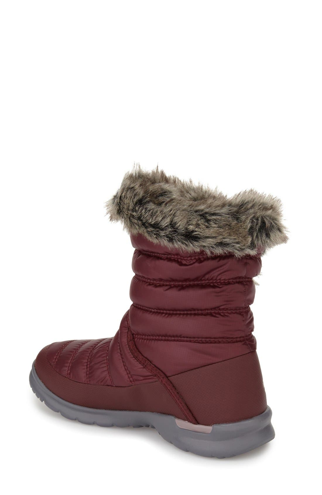 Alternate Image 2  - The North Face Microbaffle Waterproof ThermoBall® Insulated Winter Boot (Women)