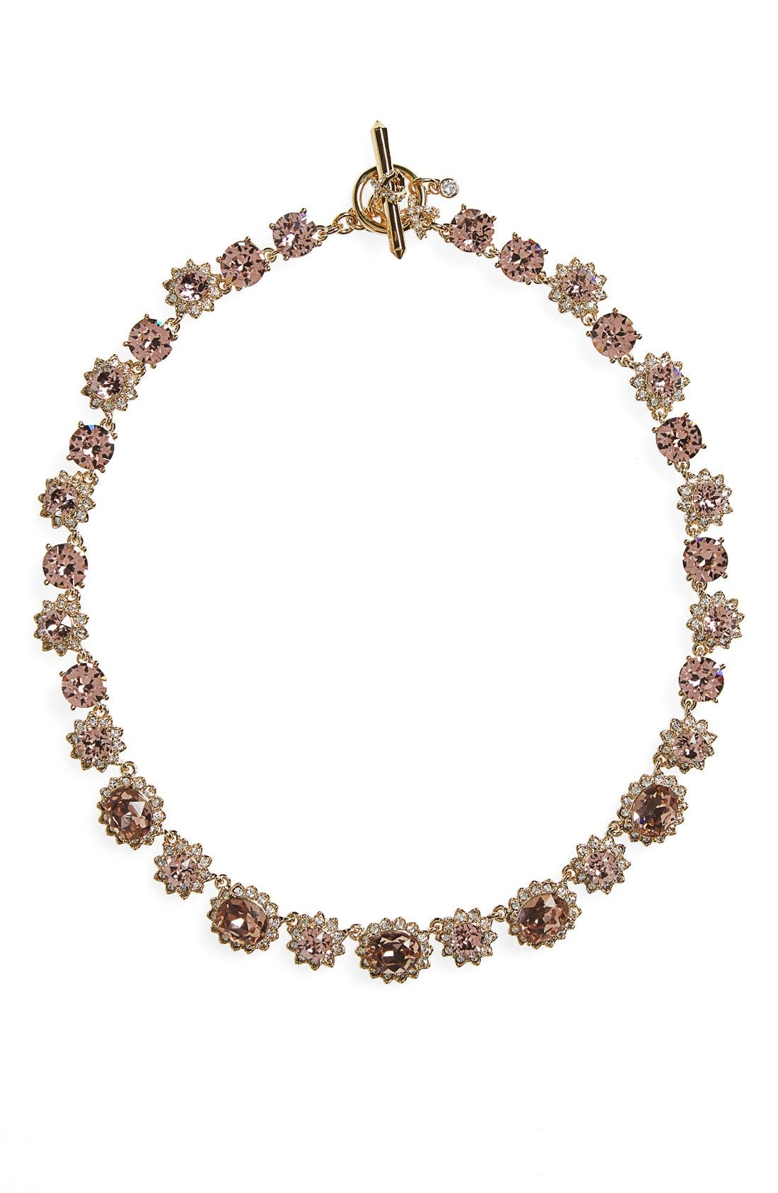 Alternate Image 1 Selected - Marchesa Sunrise Swarovski Crystal Collar Necklace
