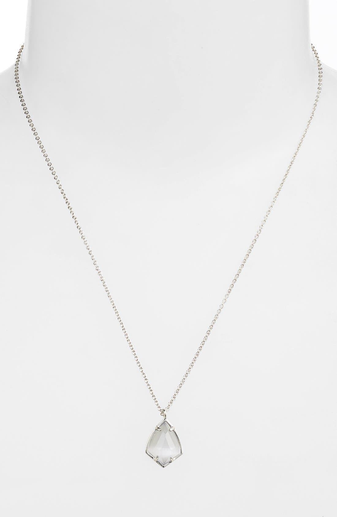 Alternate Image 2  - Kendra Scott 'Cory' Semiprecious Stone Pendant Necklace