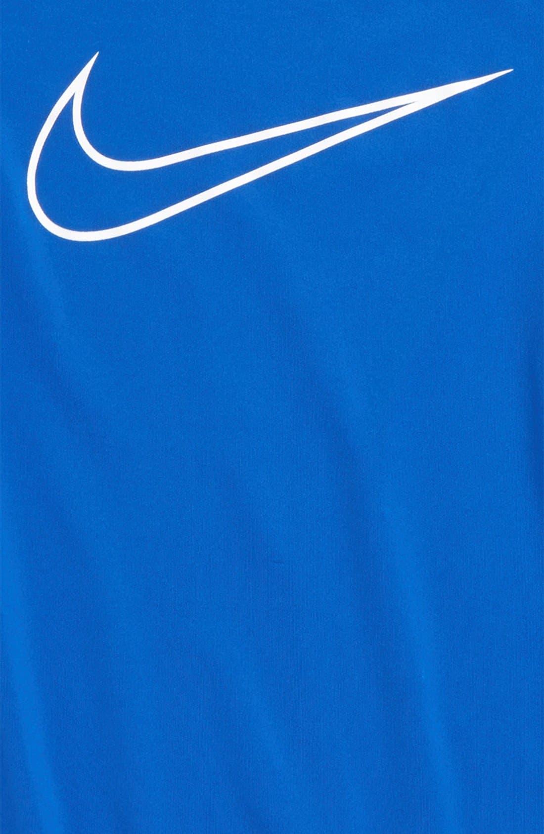 Cool Dri-FIT T-Shirt,                             Alternate thumbnail 2, color,                             Game Royal/ Deep Royal/ White