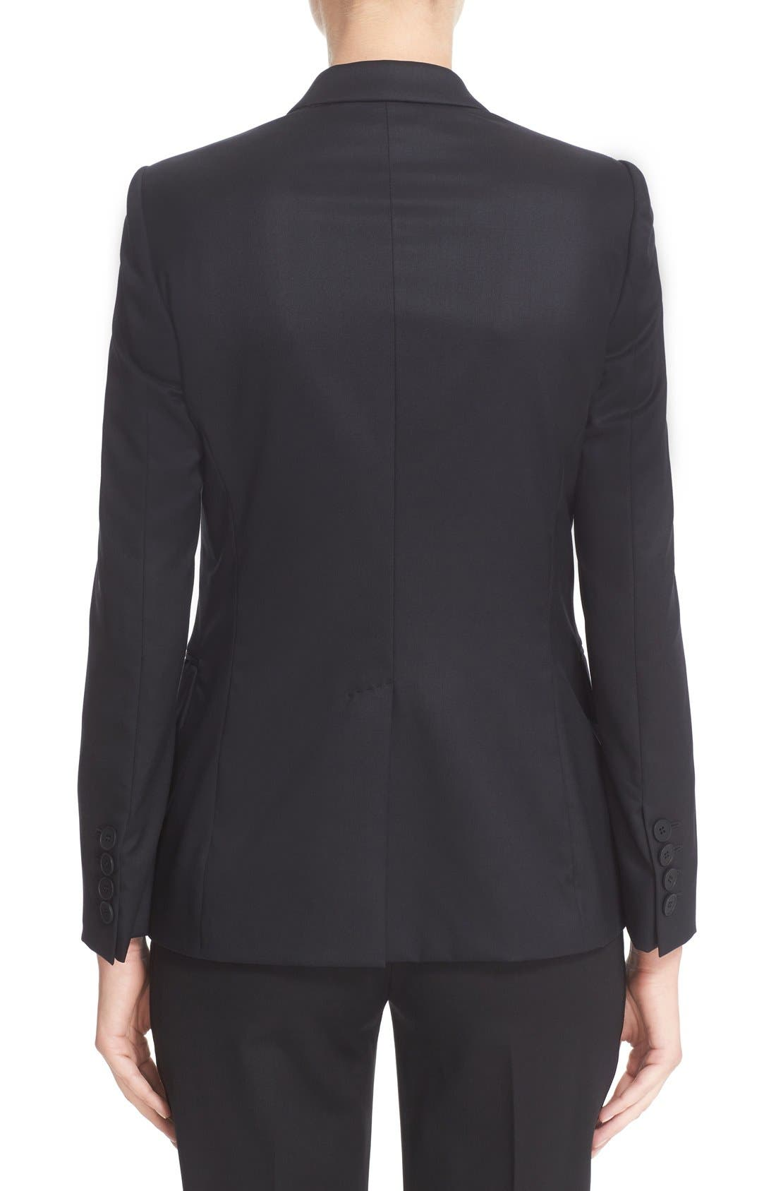 Alternate Image 2  - Stella McCartney PS1 One-Button Wool Jacket (Nordstrom Exclusive)