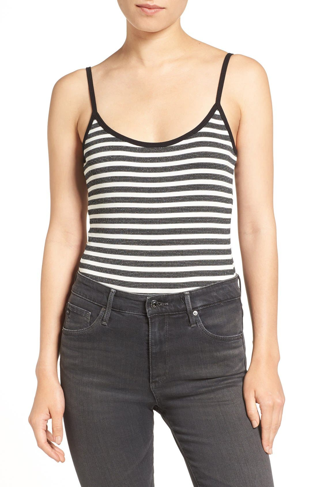 PAIGE Kinsley Stripe Bodysuit