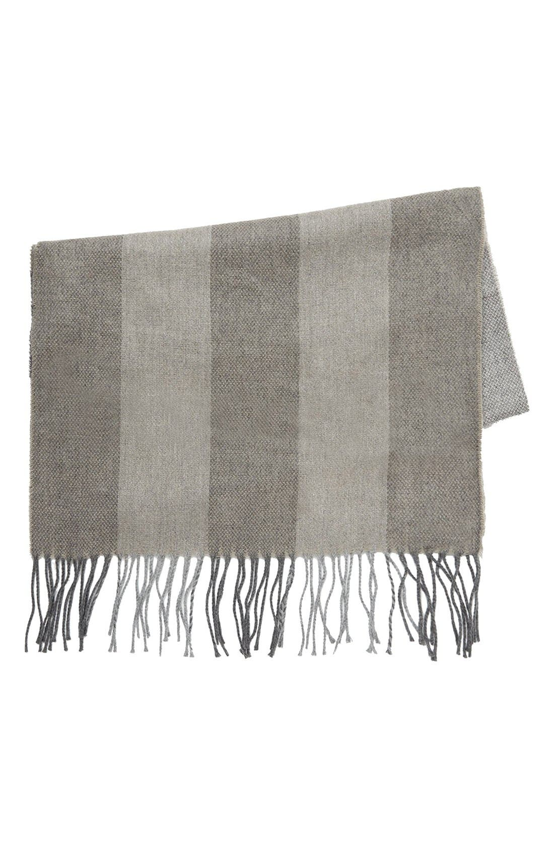 Alternate Image 1 Selected - Topman Check Woven Scarf