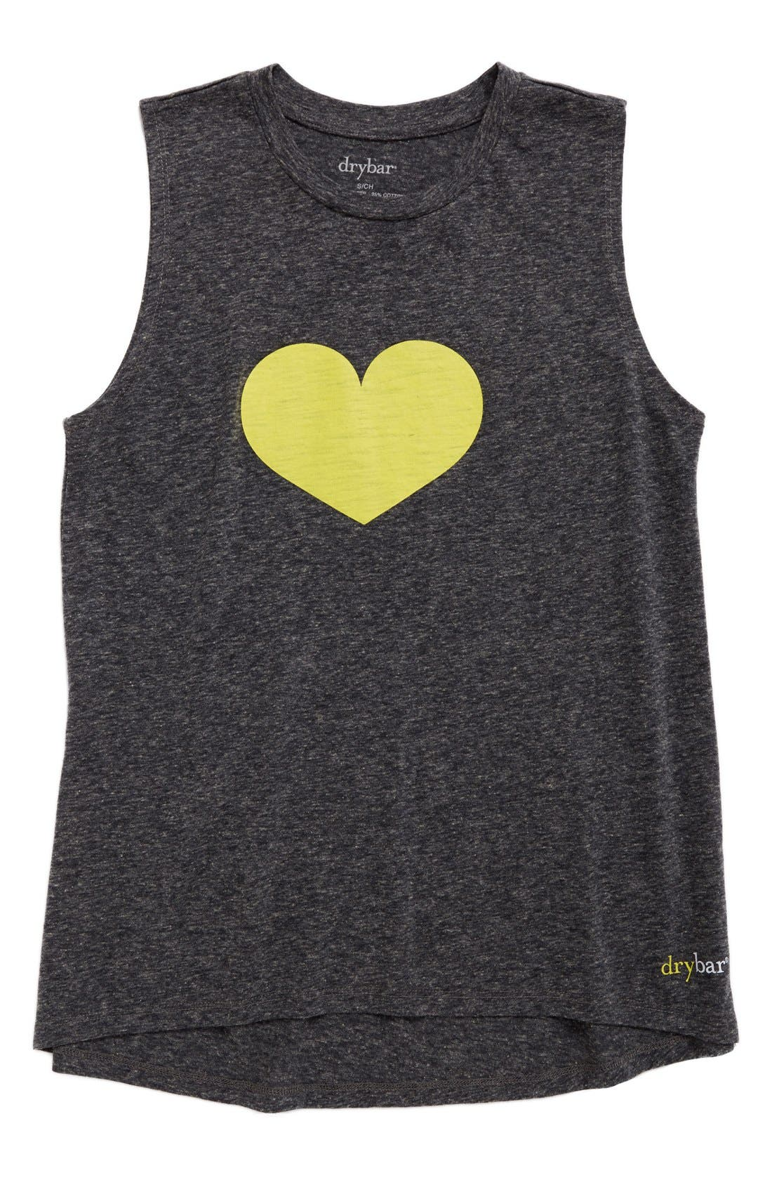 Drybar Capsule Yellow Heart Tank Top (Limited Edition)