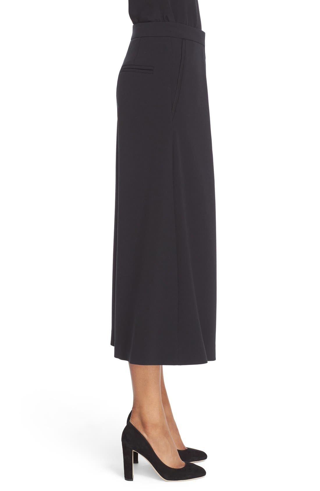 Devon Culottes,                             Alternate thumbnail 5, color,                             Black