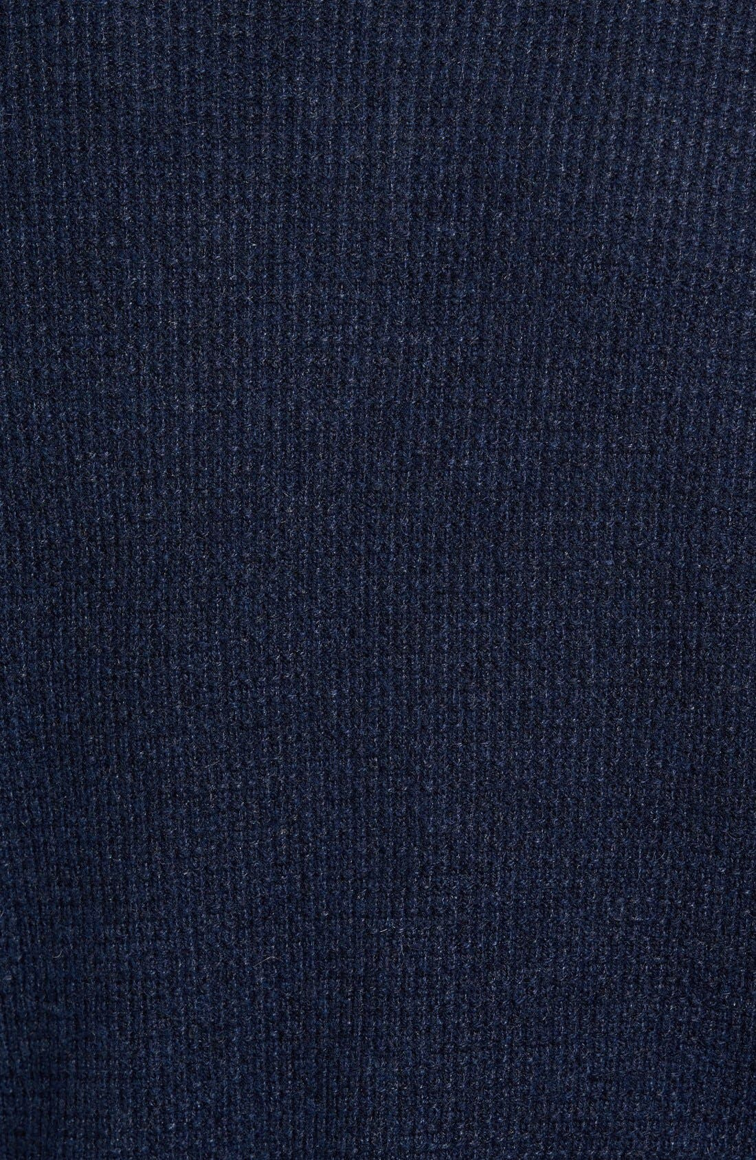 Thermal Henley,                             Alternate thumbnail 5, color,                             Navy