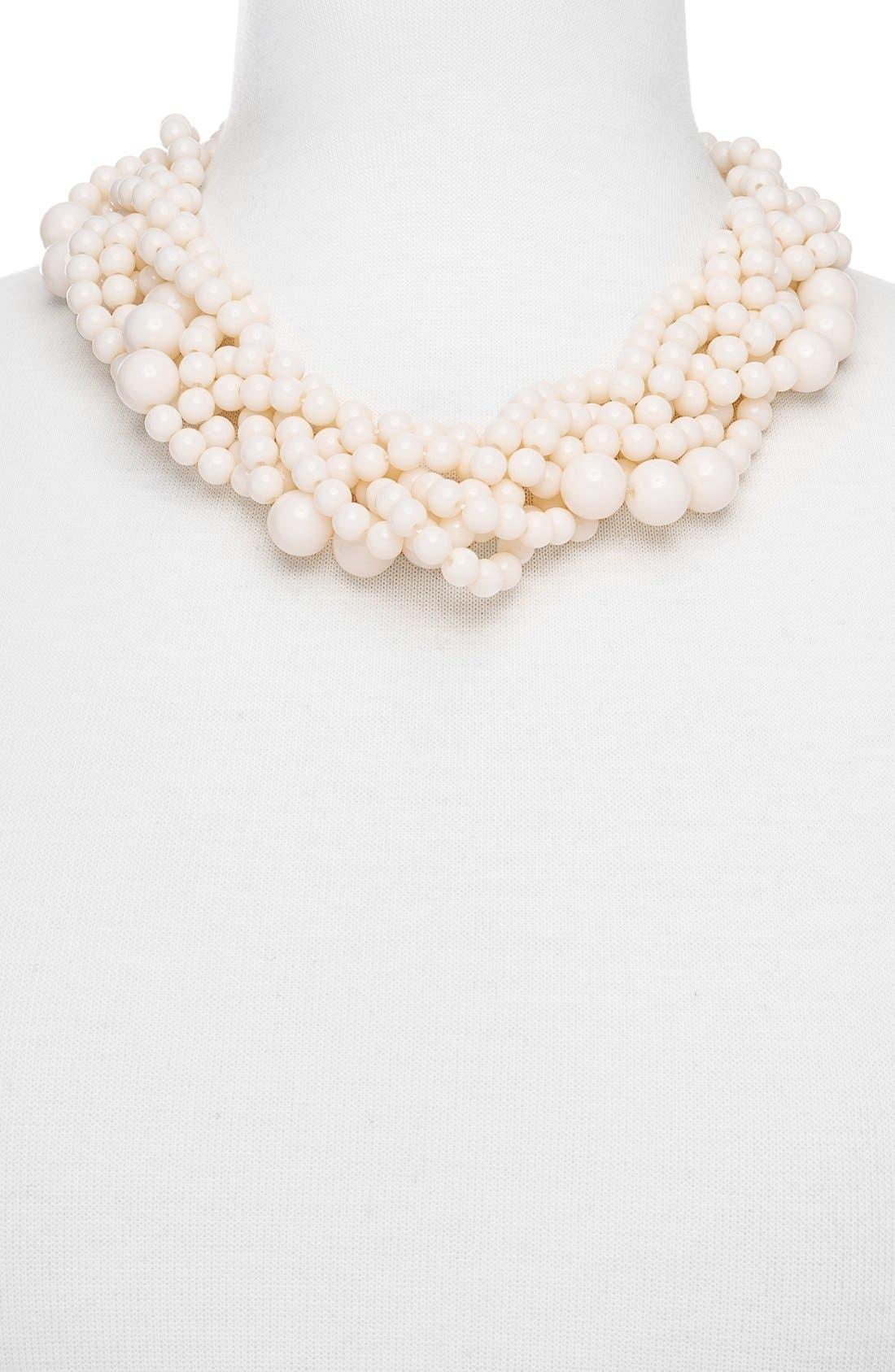 Alternate Image 2  - BaubleBar Bubblestream Imitation Pearl Necklace