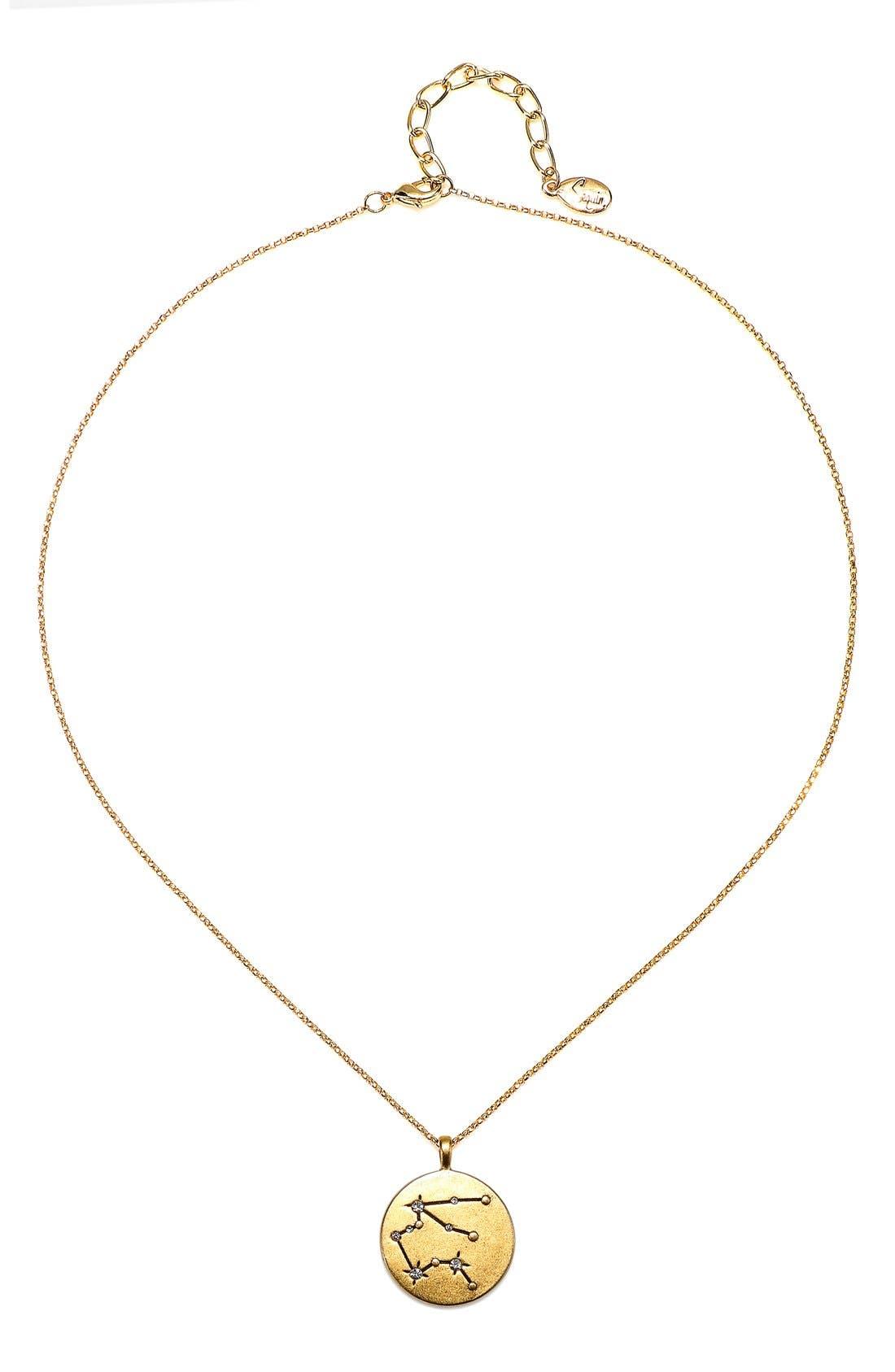 Sequin Celestial Pendant Necklace