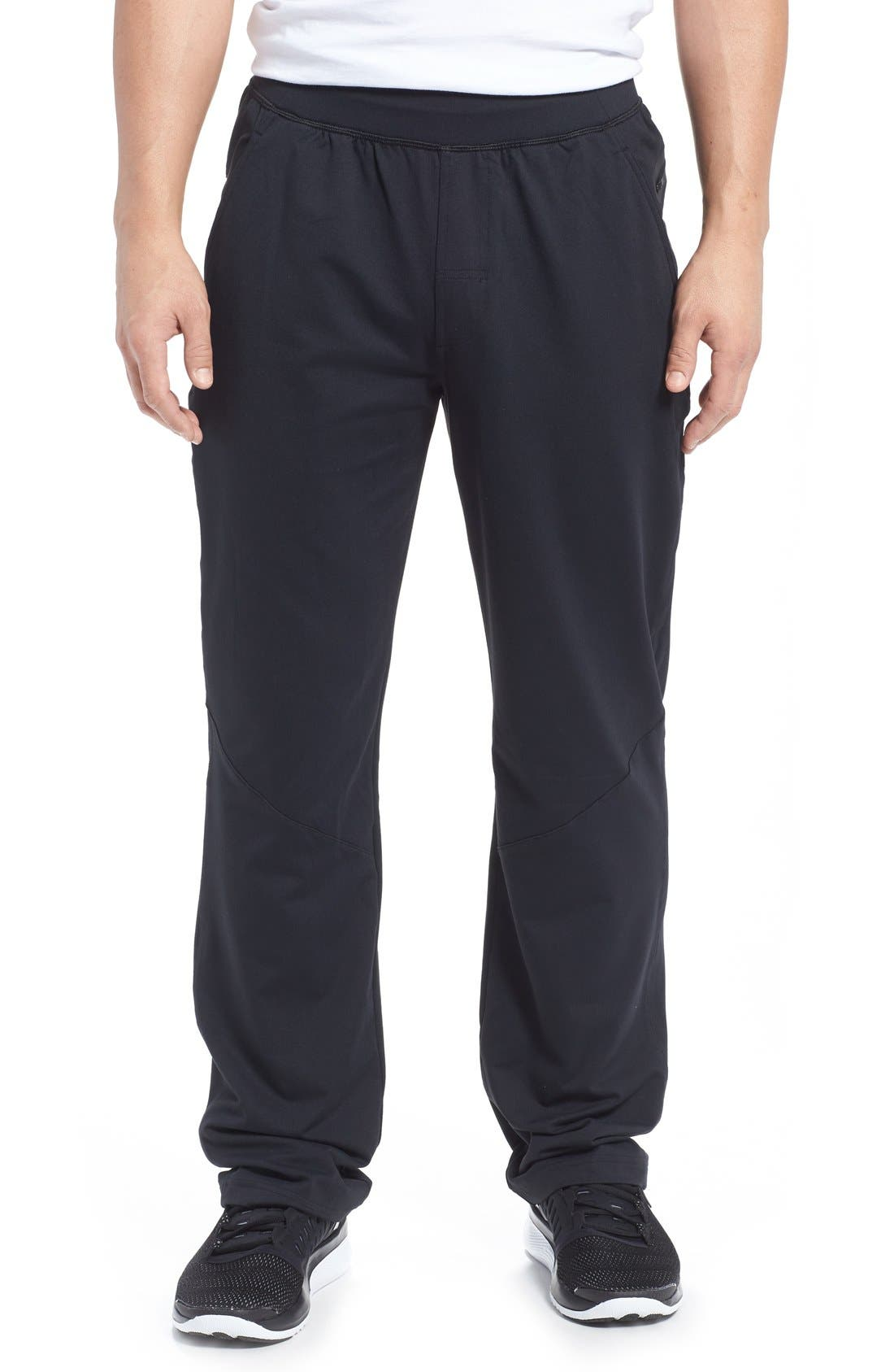 Main Image - Under Armour Regular Fit Knit Training Pants