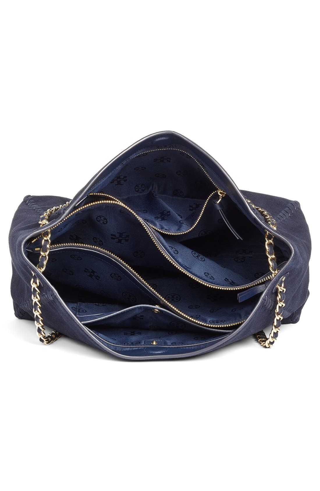 Alternate Image 4  - Tory Burch 'Marion' Suede Tote