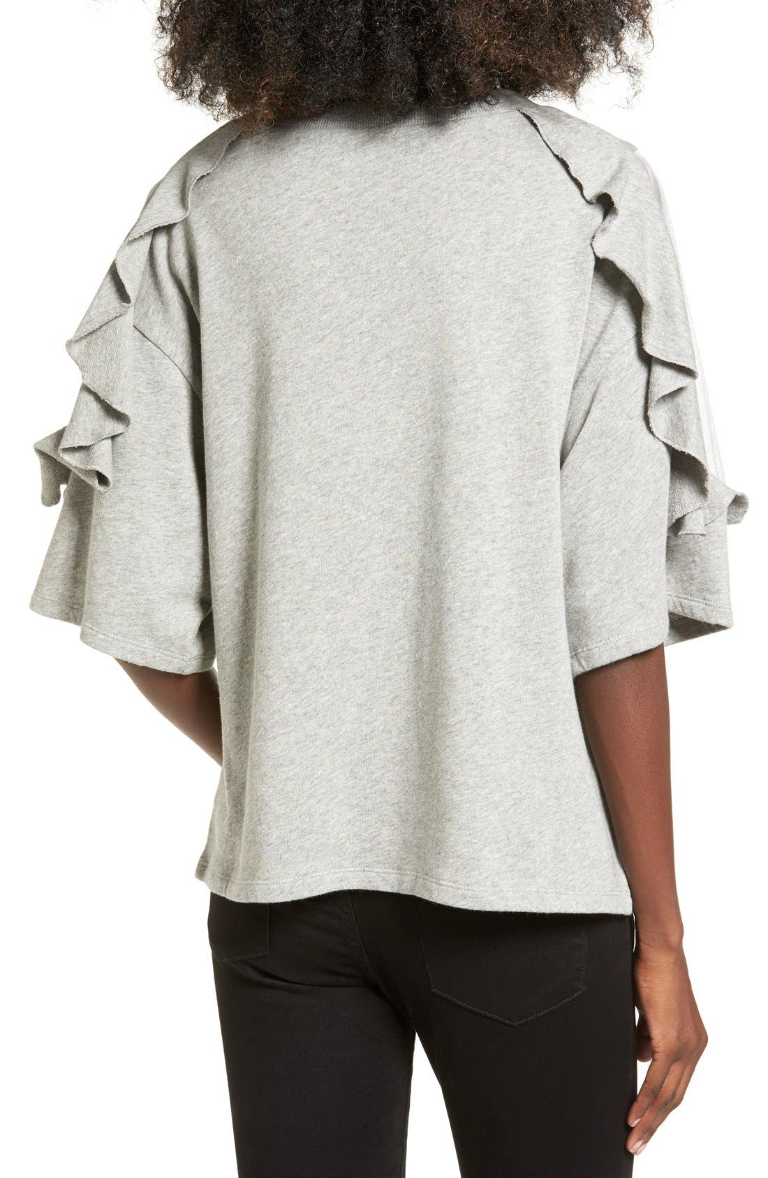 Alternate Image 2  - BP. Ruffle Sleeve Sweatshirt