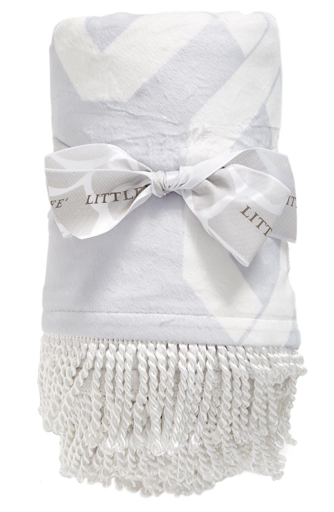 Alternate Image 1 Selected - Little Giraffe Bliss™ Windowpane Blanket