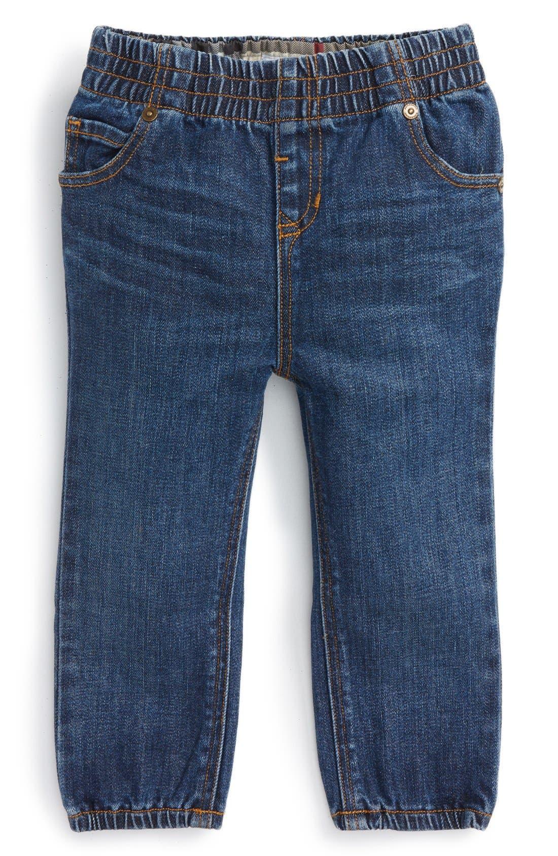 Burberry Eloise Denim Jogger Pants (Toddler Girls)