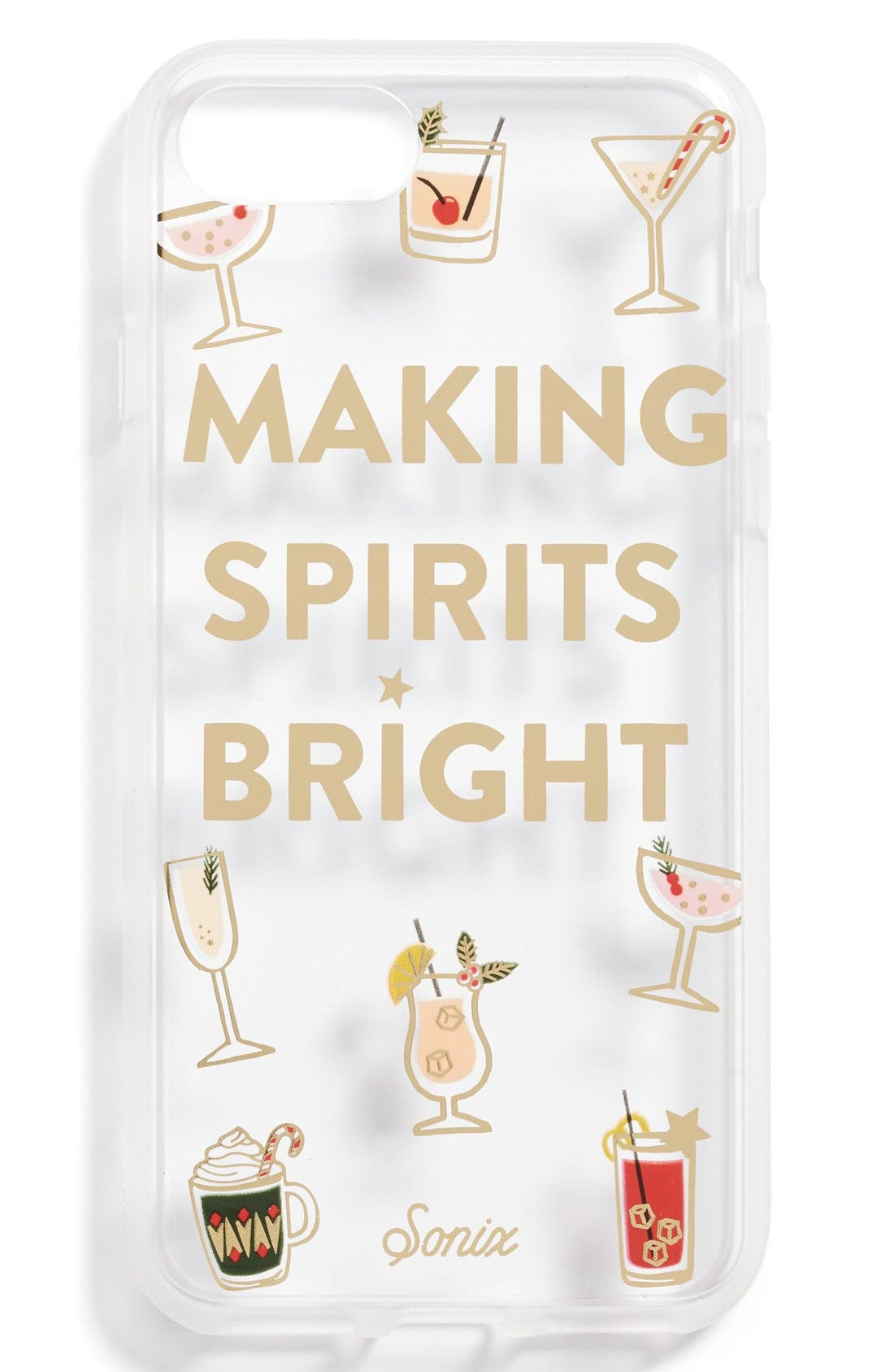 Alternate Image 2  - Sonix Making Spirits Bright iPhone Case (7 & 7 Plus)