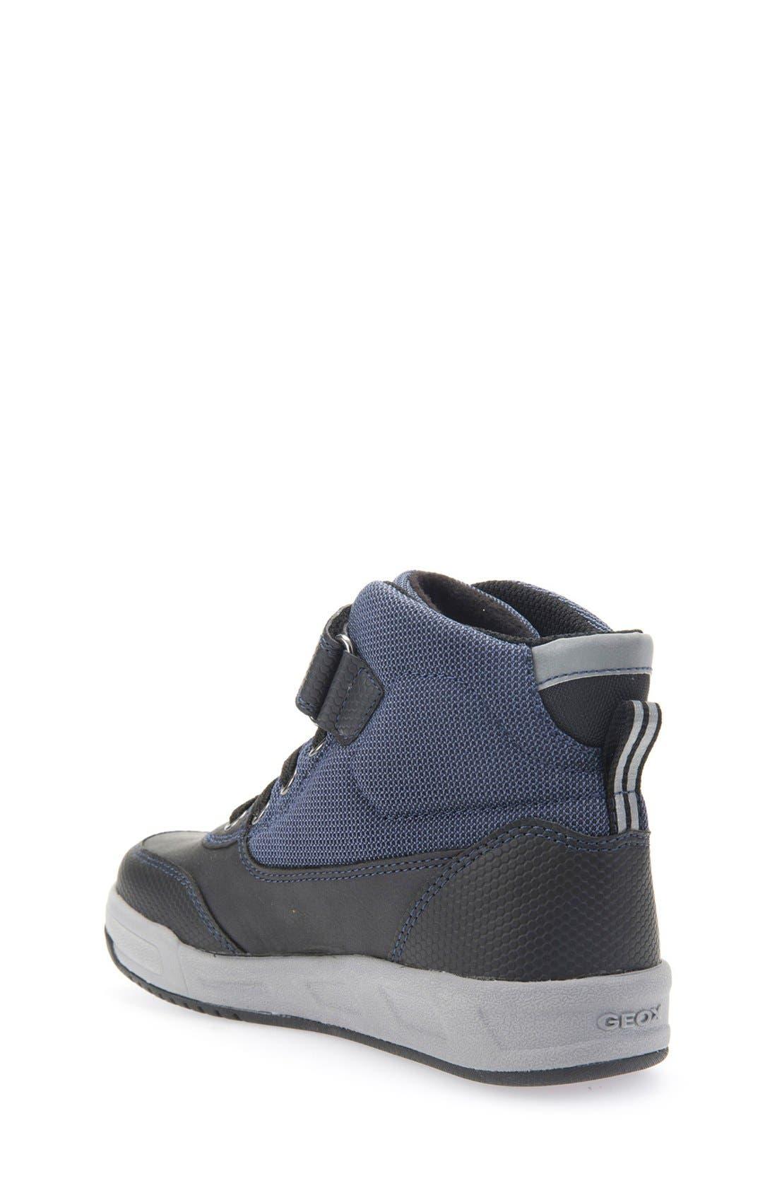 Rolk High Top Sneaker,                             Alternate thumbnail 2, color,                             Navy/ Black