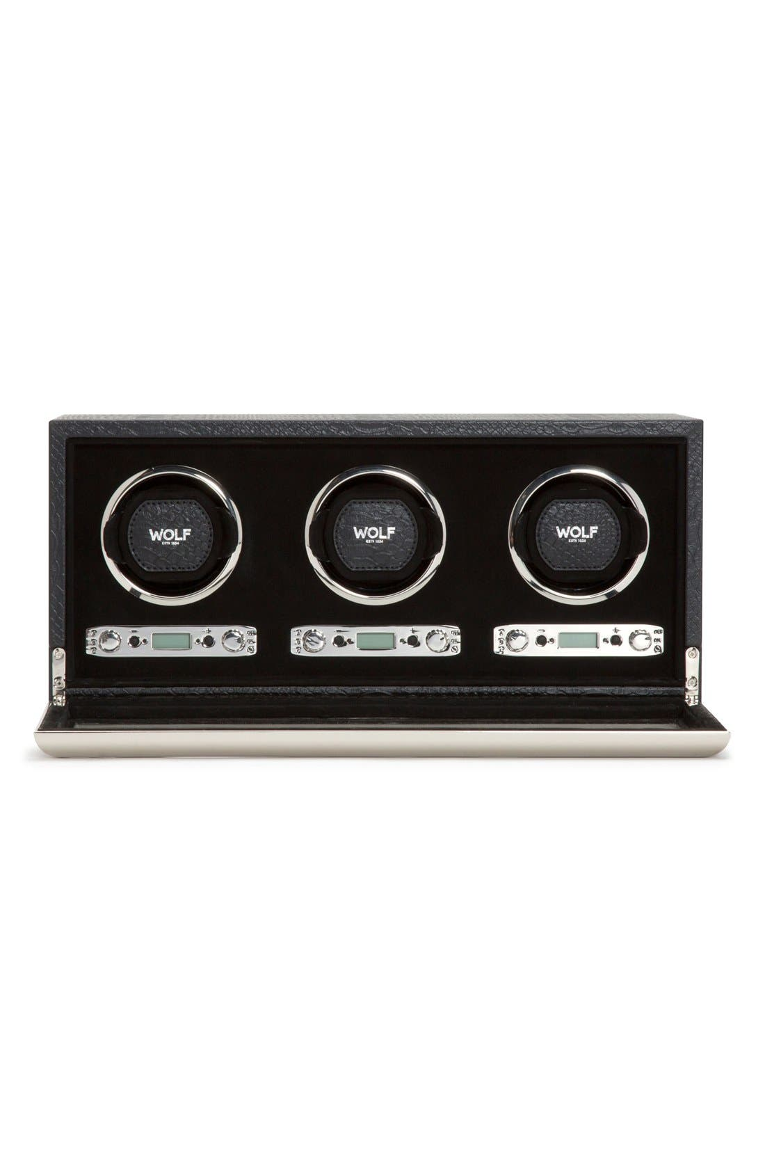 Alternate Image 4  - Wolf Exotic Triple Watch Winder