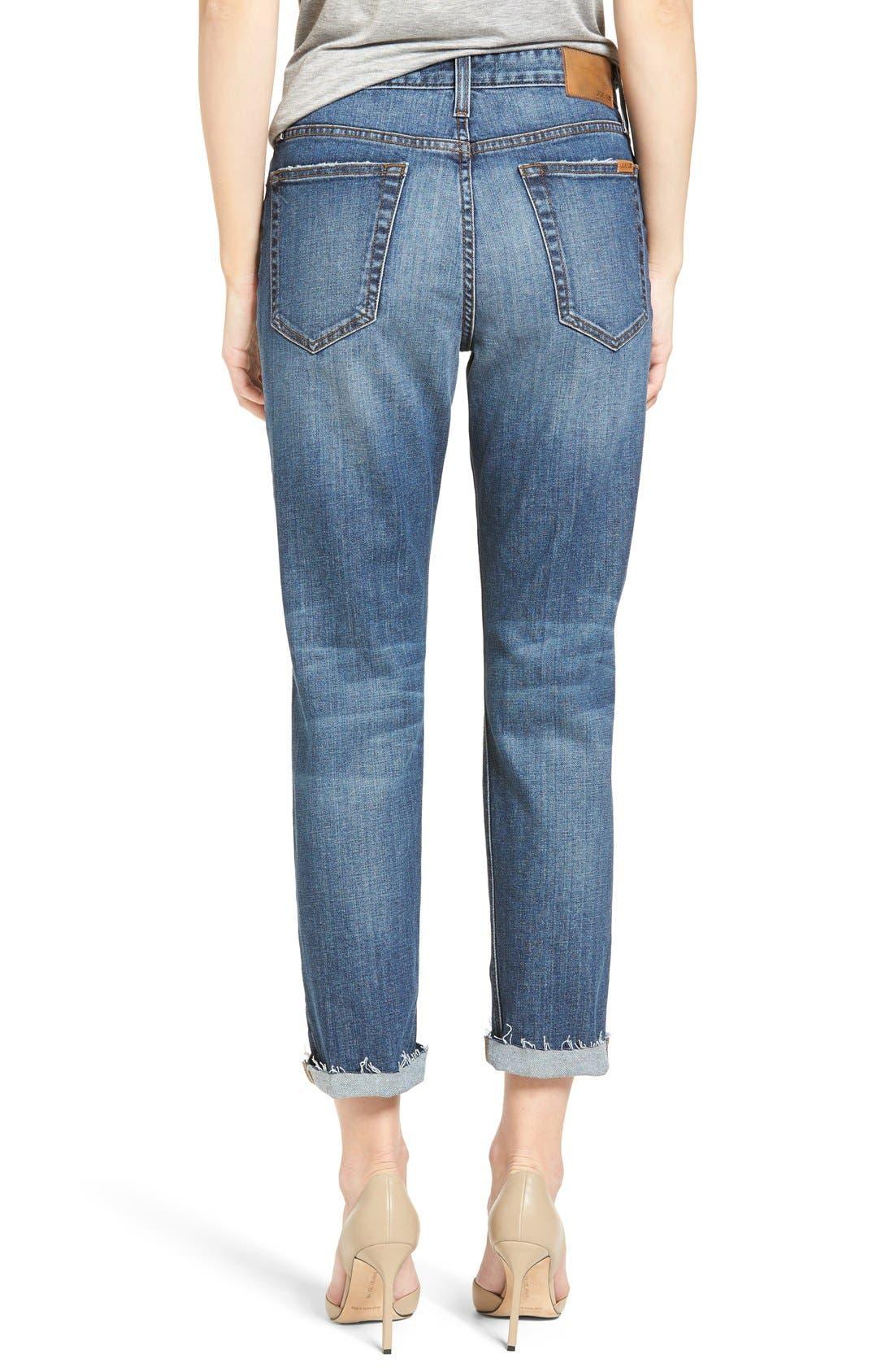 Alternate Image 2  - Joes Jeans Debbie High Waist Ripped Boyfriend Jeans (Coppola)