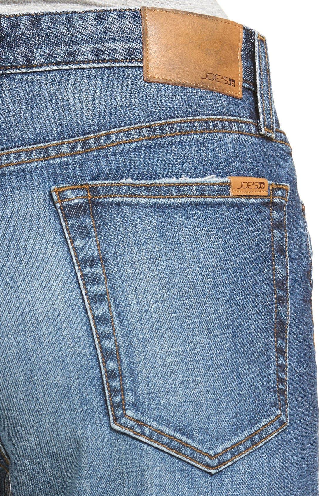 Alternate Image 4  - Joes Jeans Debbie High Waist Ripped Boyfriend Jeans (Coppola)