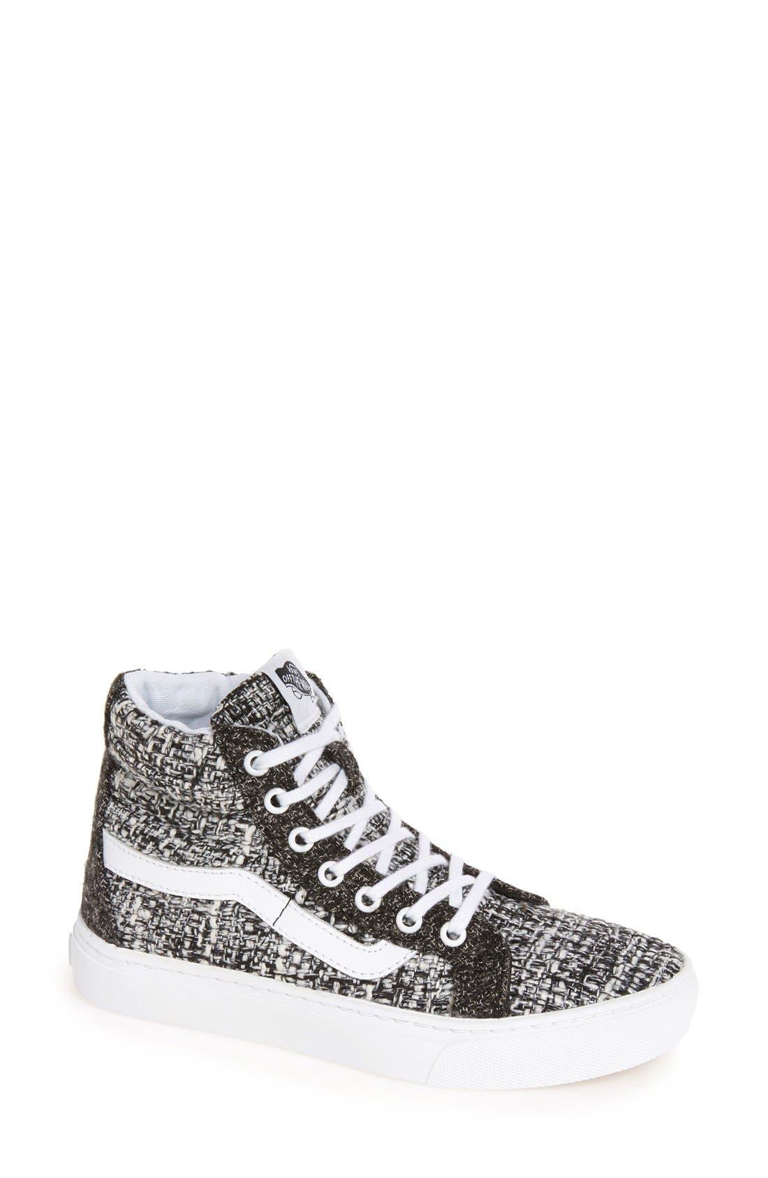 Alternate Image 1 Selected - Vans Sk8-Hi High Top Sneaker (Women)
