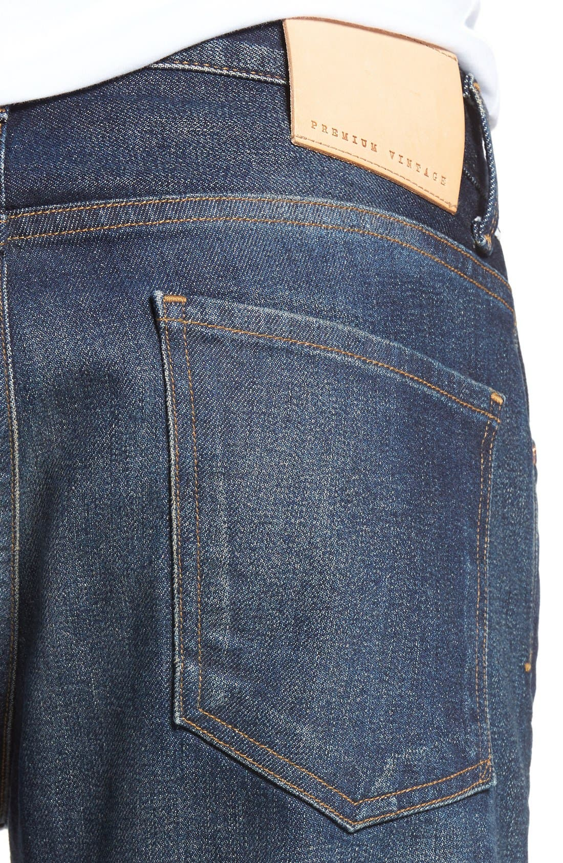 Bowery Slim Fit Jeans,                             Alternate thumbnail 4, color,                             Hesperia