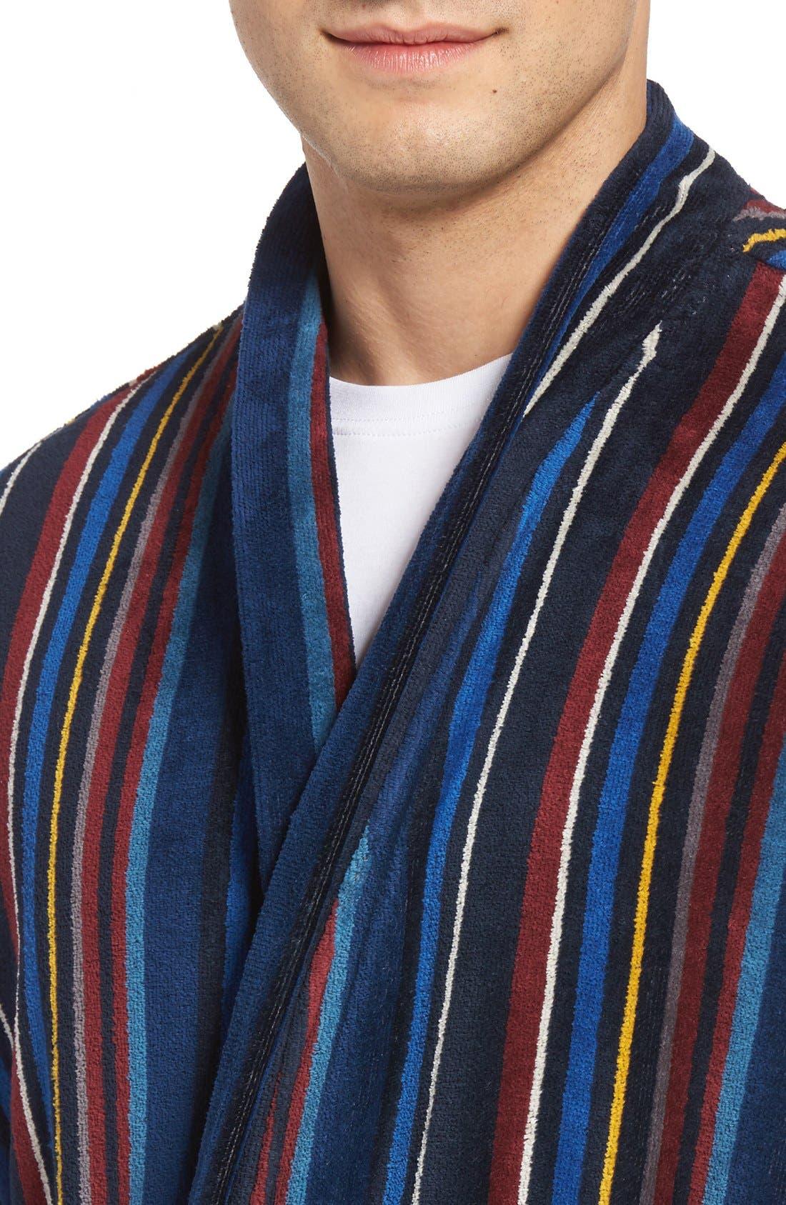 Alternate Image 4  - Majestic International Terry Cotton Robe