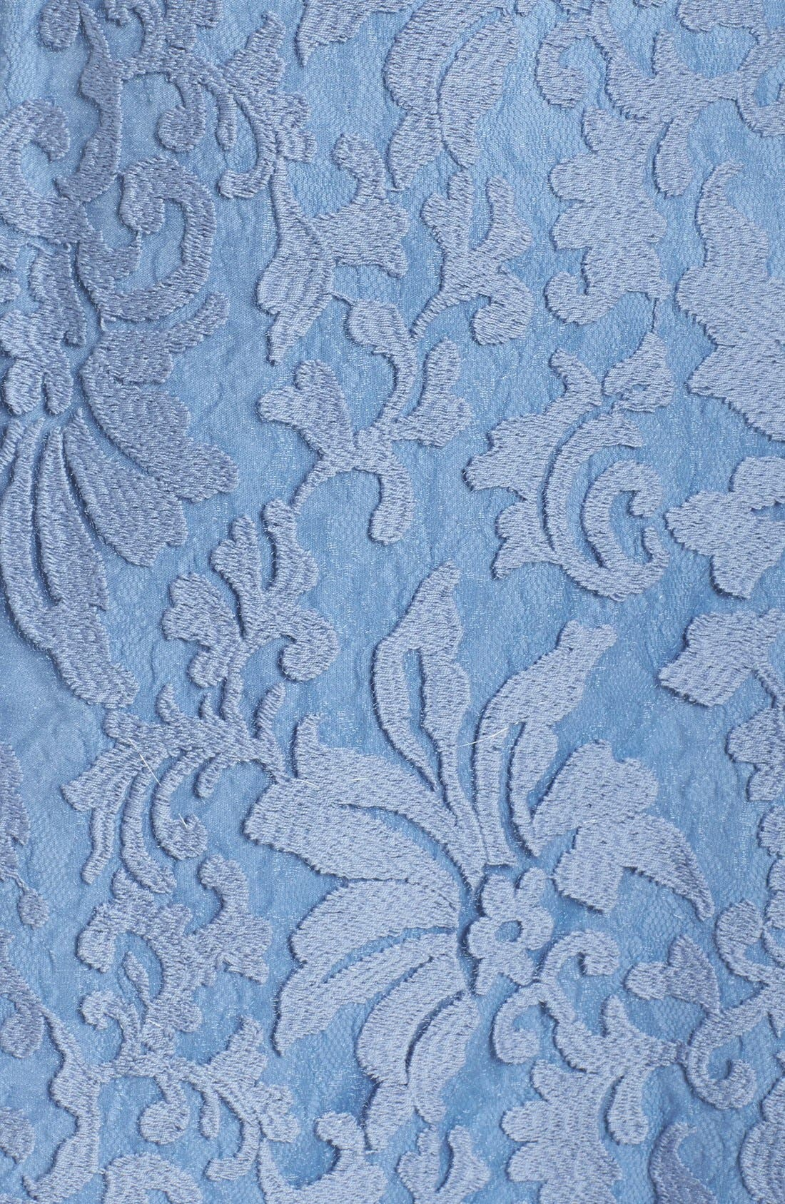 Alternate Image 6  - Tadashi Shoji Lace Overlay Dress