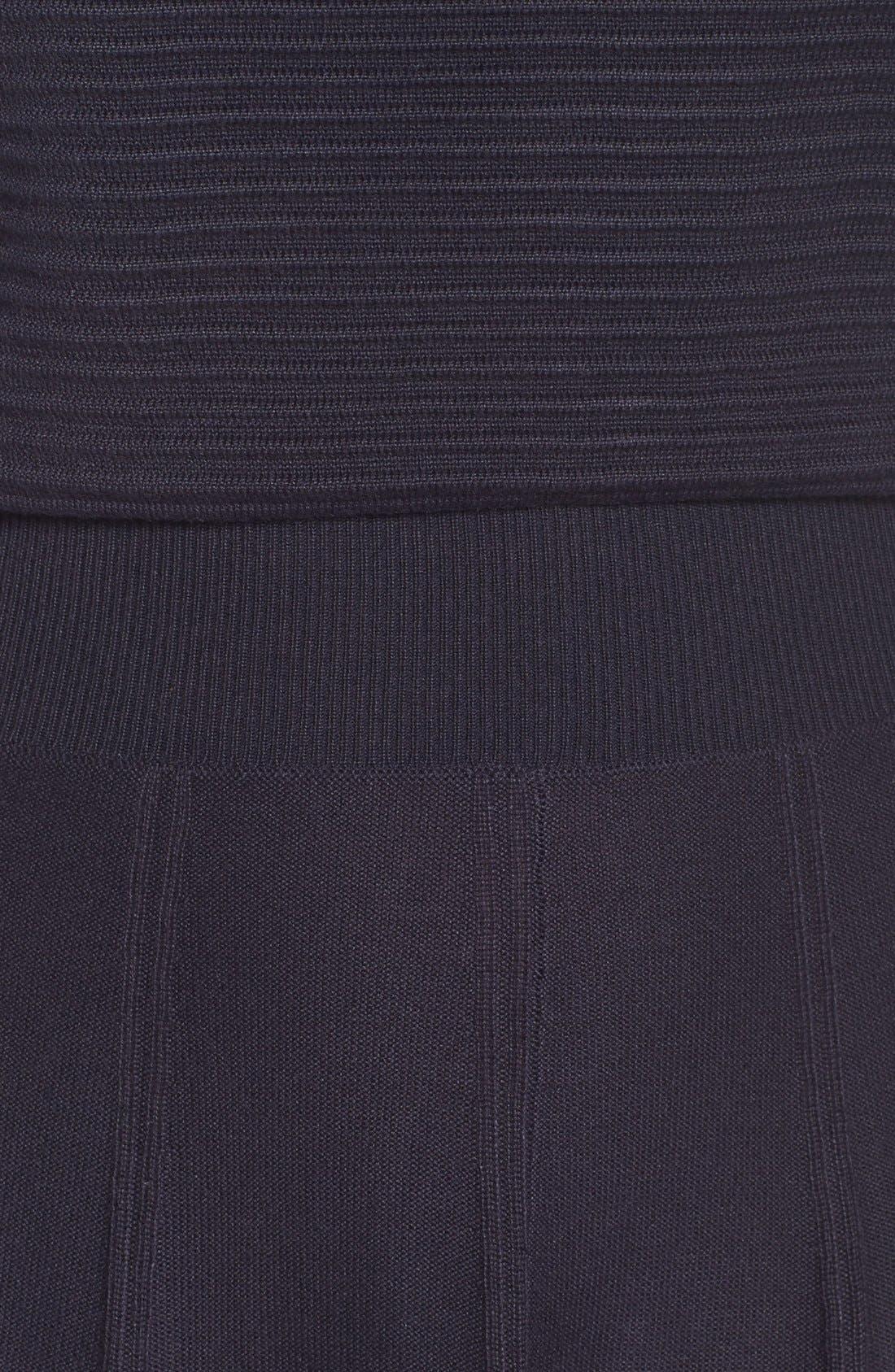Alternate Image 5  - Eliza J Sweater Fit & Flare Dress