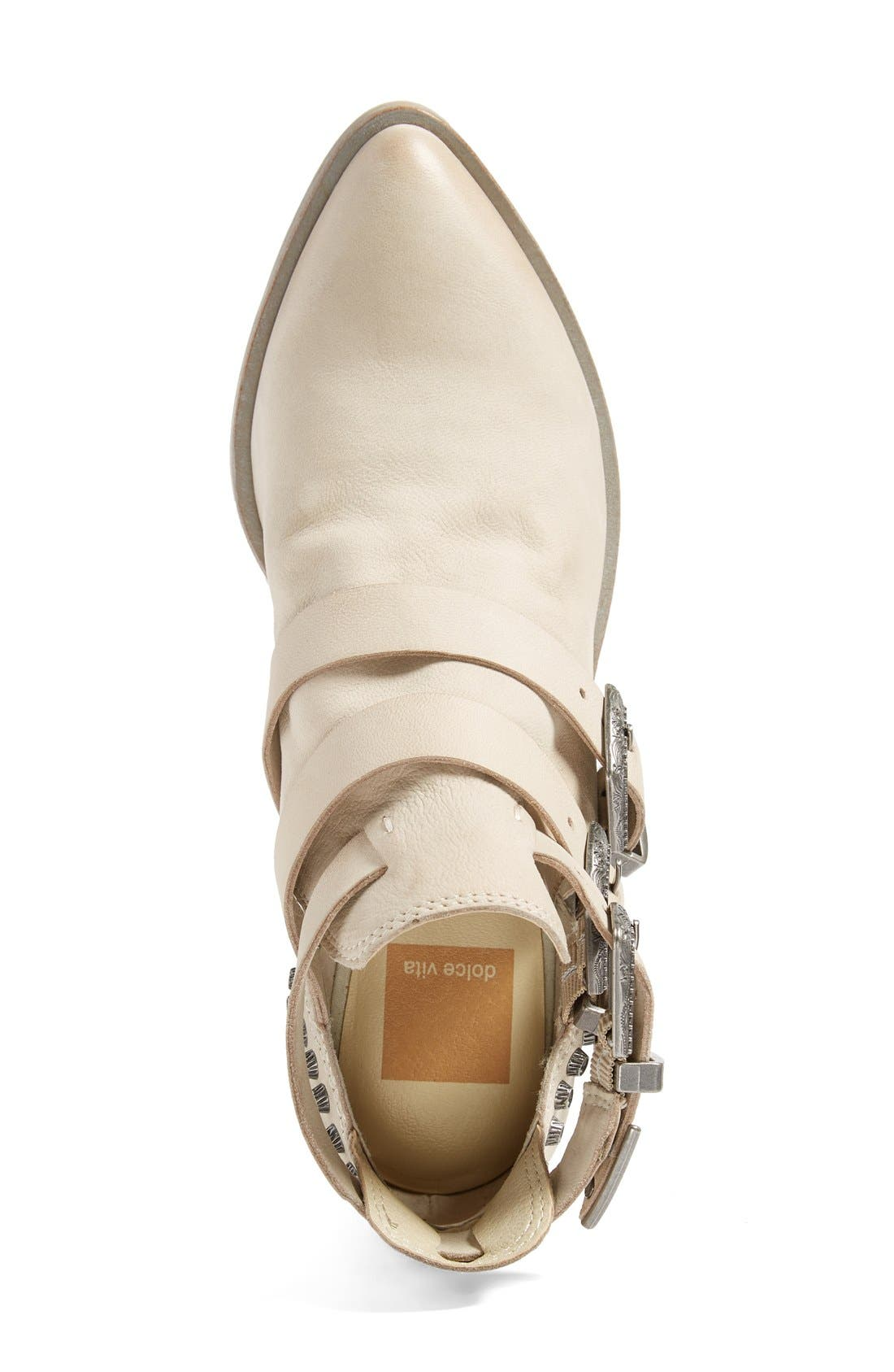 Alternate Image 3  - Dolce Vita 'Spur' Buckle Strap Bootie (Women)