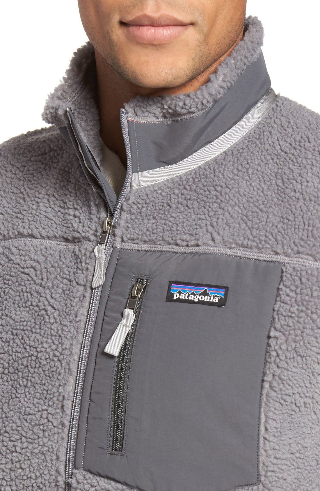 Classic Retro-X<sup>®</sup> Waterproof Vest,                             Alternate thumbnail 4, color,                             Feather Grey