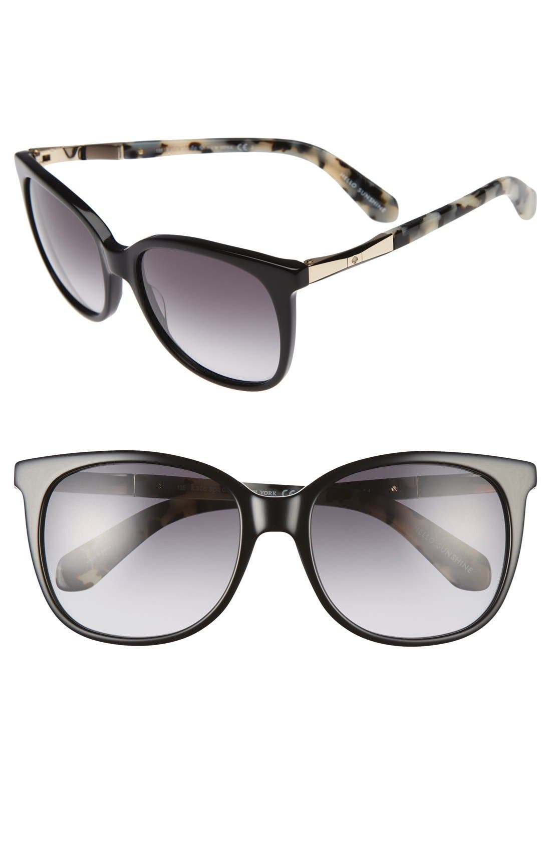 Alternate Image 1 Selected - kate spade new york julieanna 54mm sunglasses