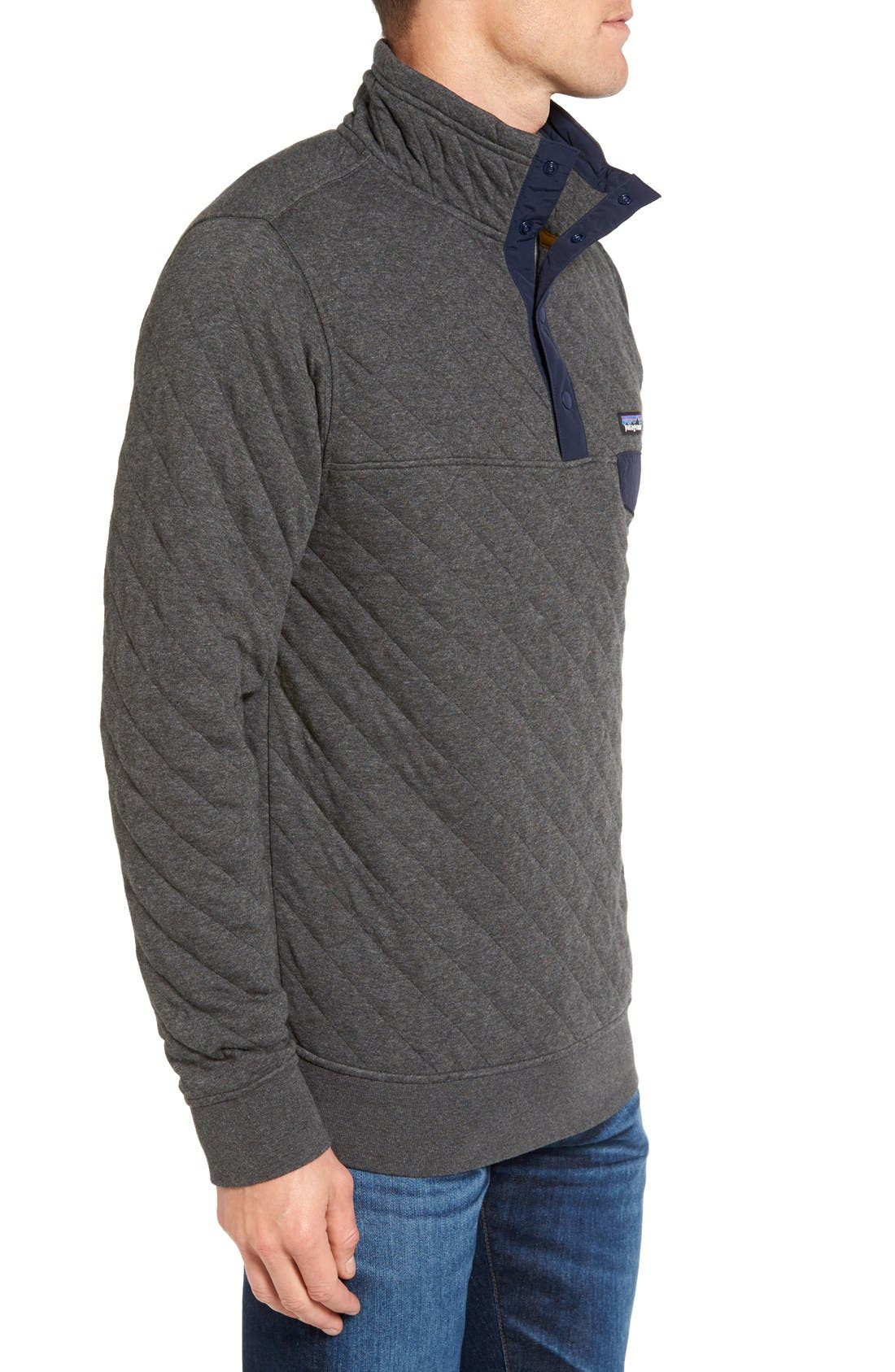 Alternate Image 3  - Patagonia Snap-T Quilted Fleece Pullover