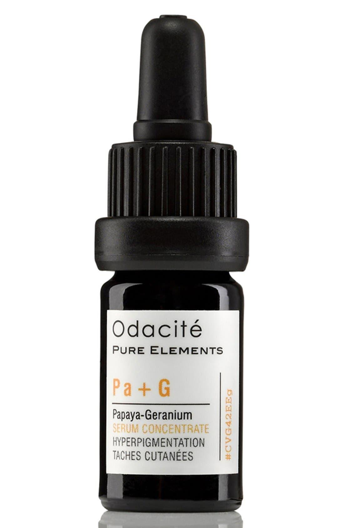 Odacité Pa + G Papaya-Geranium Hyperpigmentation Facial Serum Concentrate