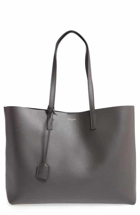 88129e6b1f4e Saint Laurent  Shopping  Leather Tote