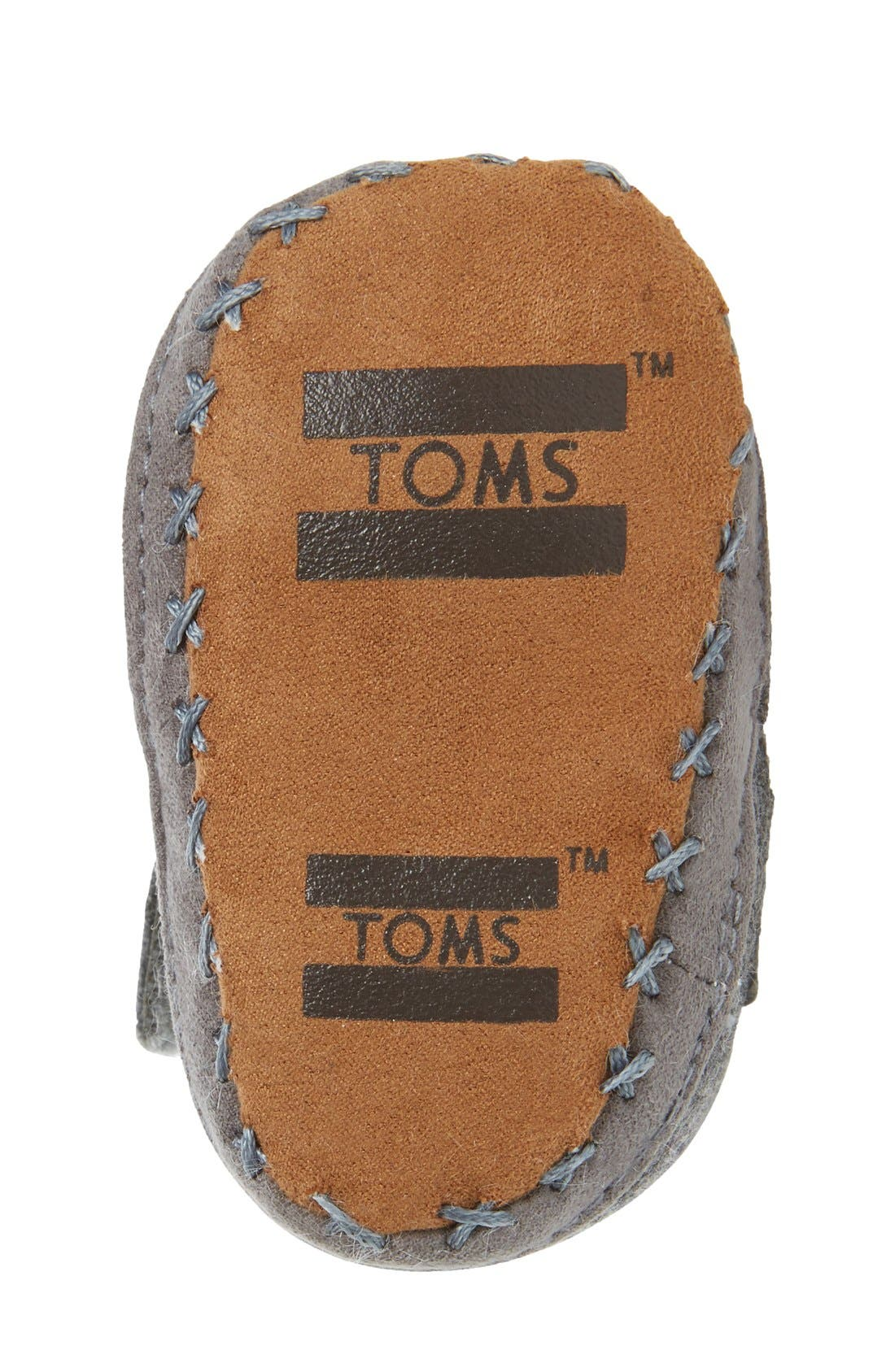 Alternate Image 4  - TOMS Cuna Crib Shoe (Baby)