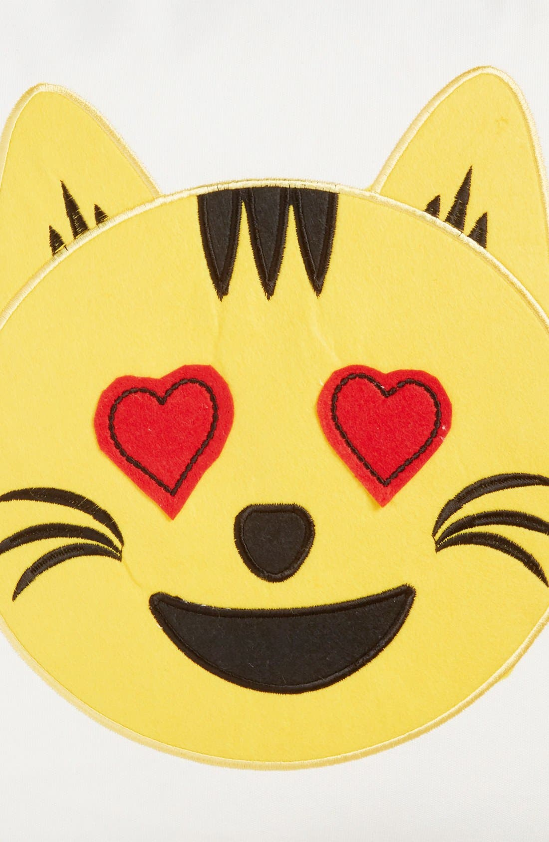 Alternate Image 3  - Levtex Cat Emoji Pillow
