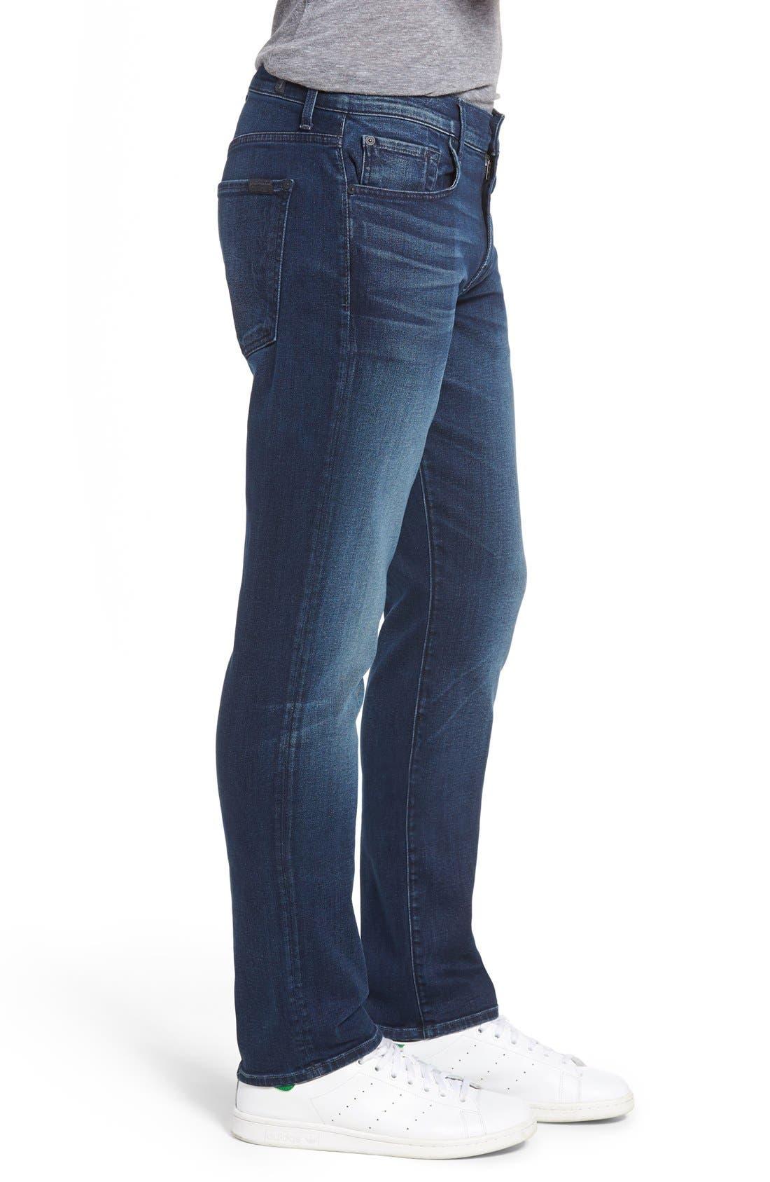 Slimmy Luxe Performance Slim Fit Jeans,                             Alternate thumbnail 3, color,                             Belfast