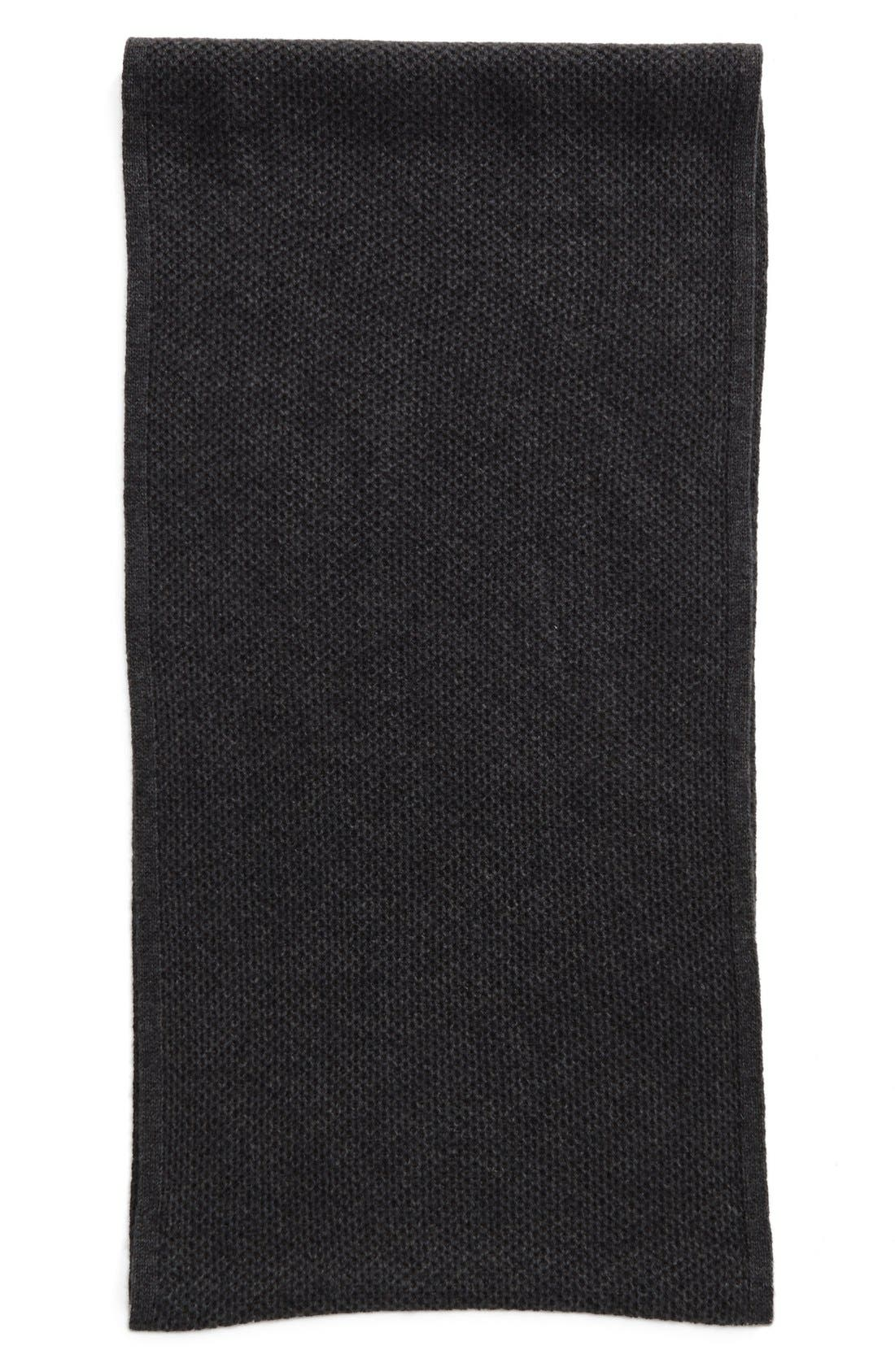 Alternate Image 2  - Halogen® Knit Cashmere Infinity Scarf