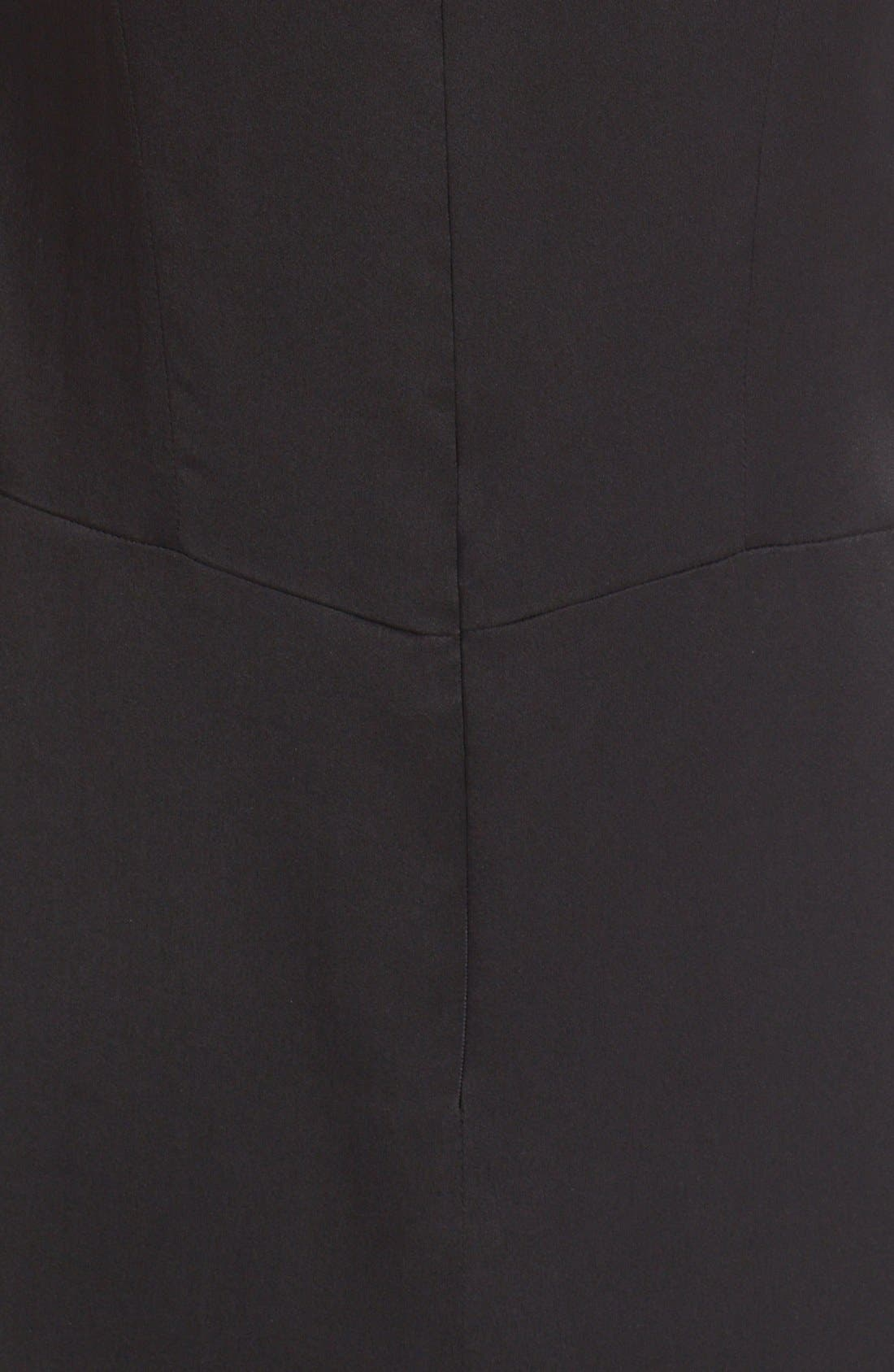Alternate Image 3  - Belstaff Jasmine Lace Inset Silk Midi Dress