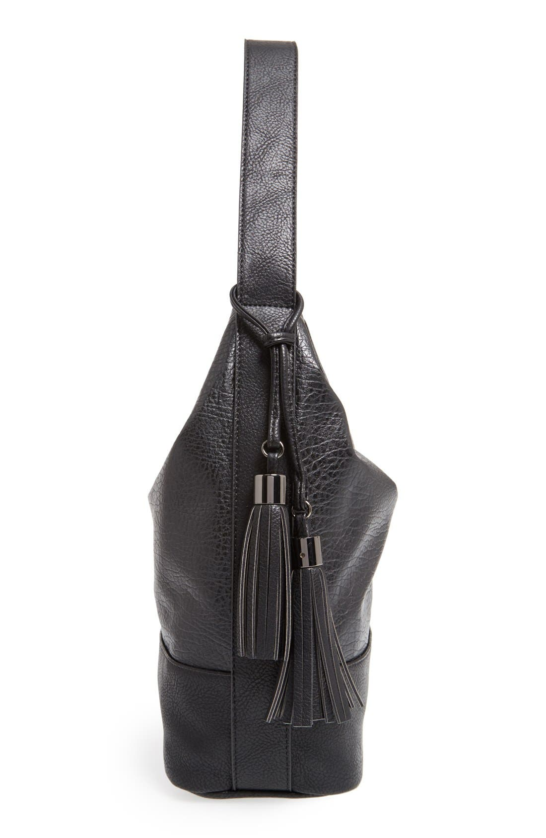Alternate Image 4  - POVERTY FLATS by rian Faux Leather Hobo