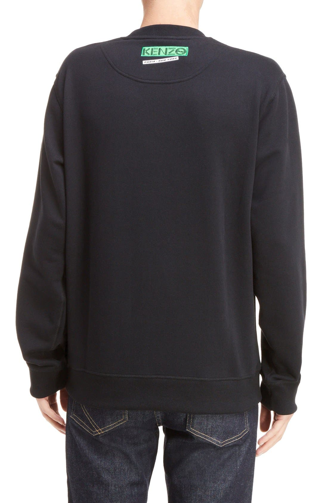 Alternate Image 2  - KENZO Embroidered Graphic Sweatshirt
