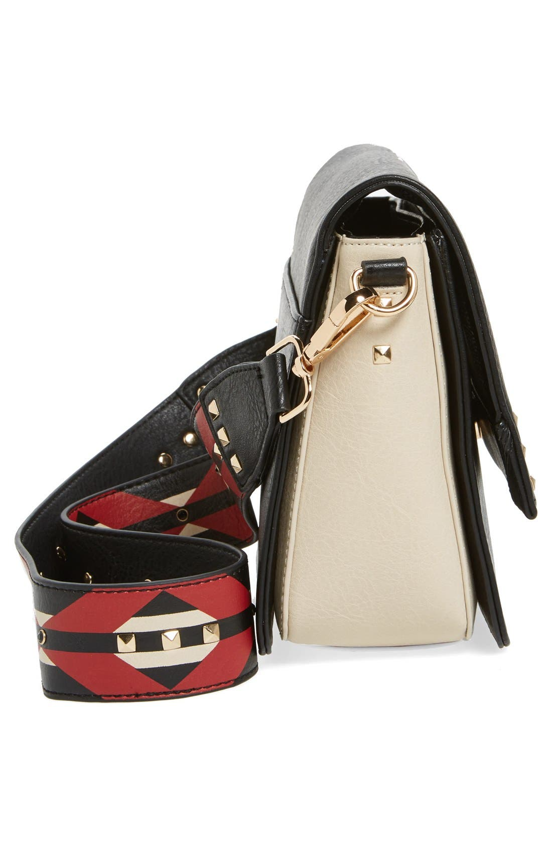 Alternate Image 5  - Steve Madden BScout Statement Strap Shoulder Bag