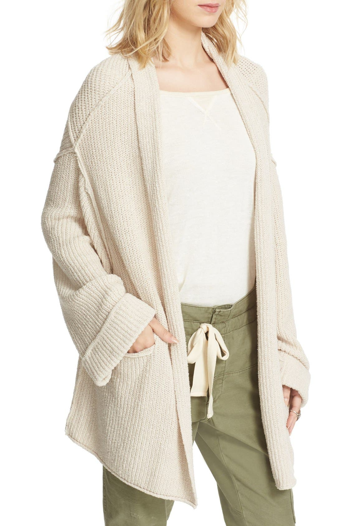 Alternate Image 5  - Free People Low Tide Cardigan