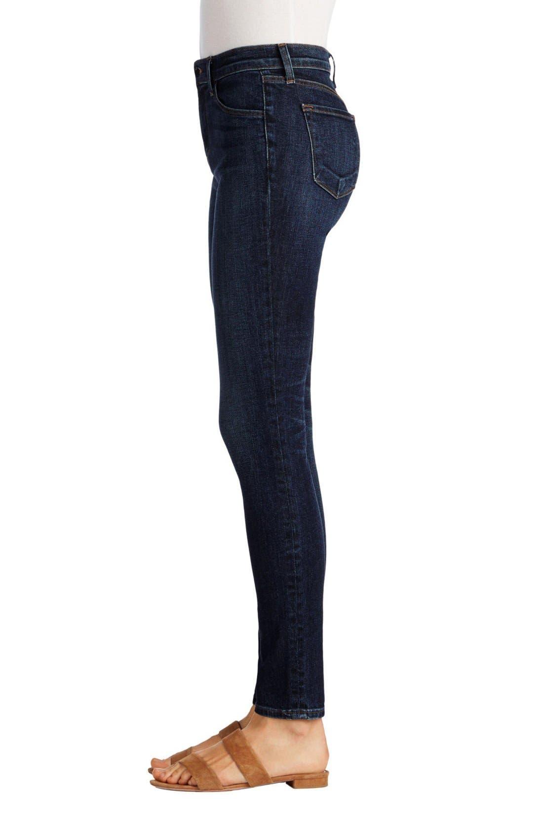 Alternate Image 3  - J Brand Maria High Waist Skinny Jeans