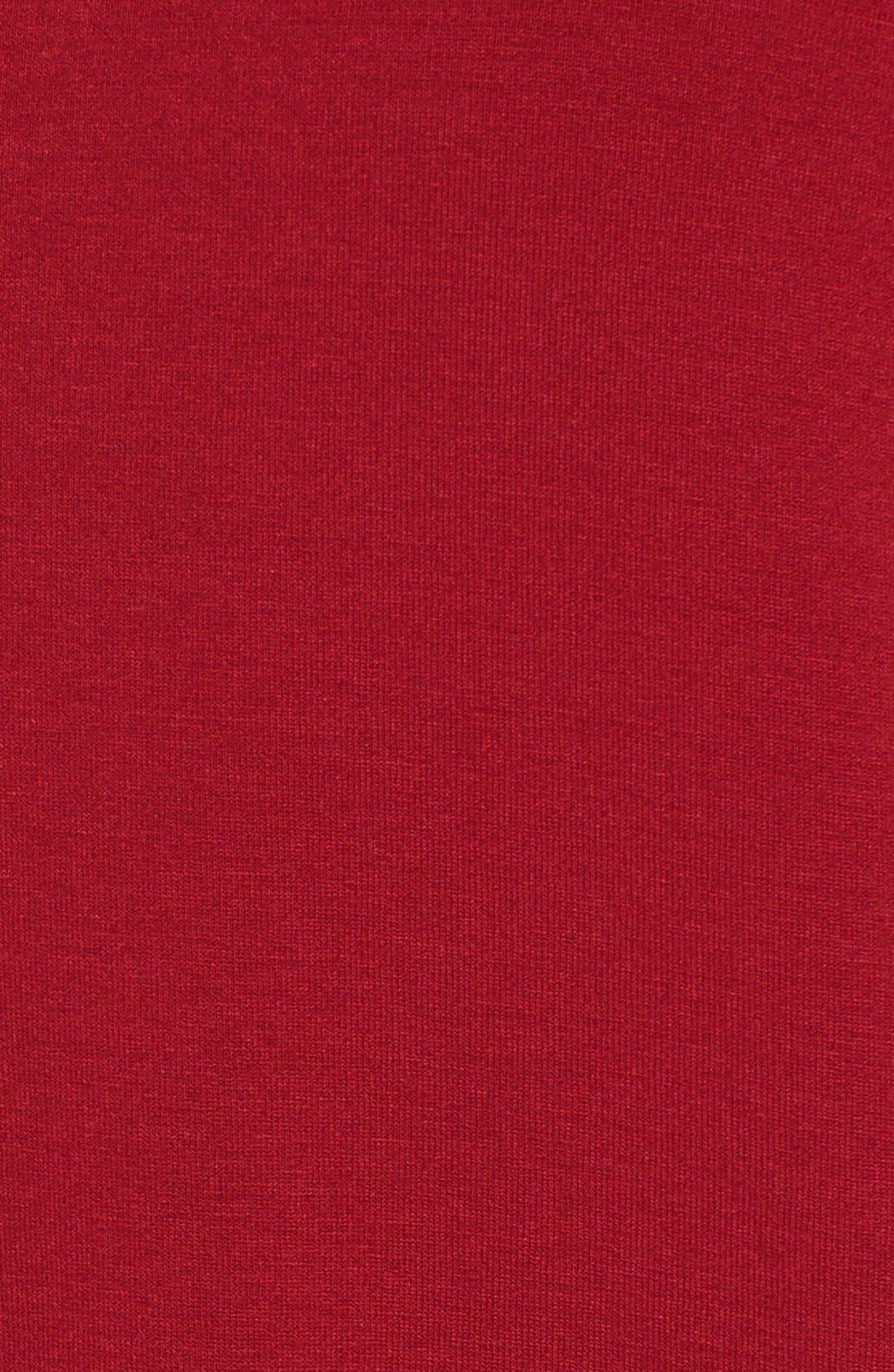 Alternate Image 5  - Eileen Fisher V-Neck Stretch Jersey Shift Dress