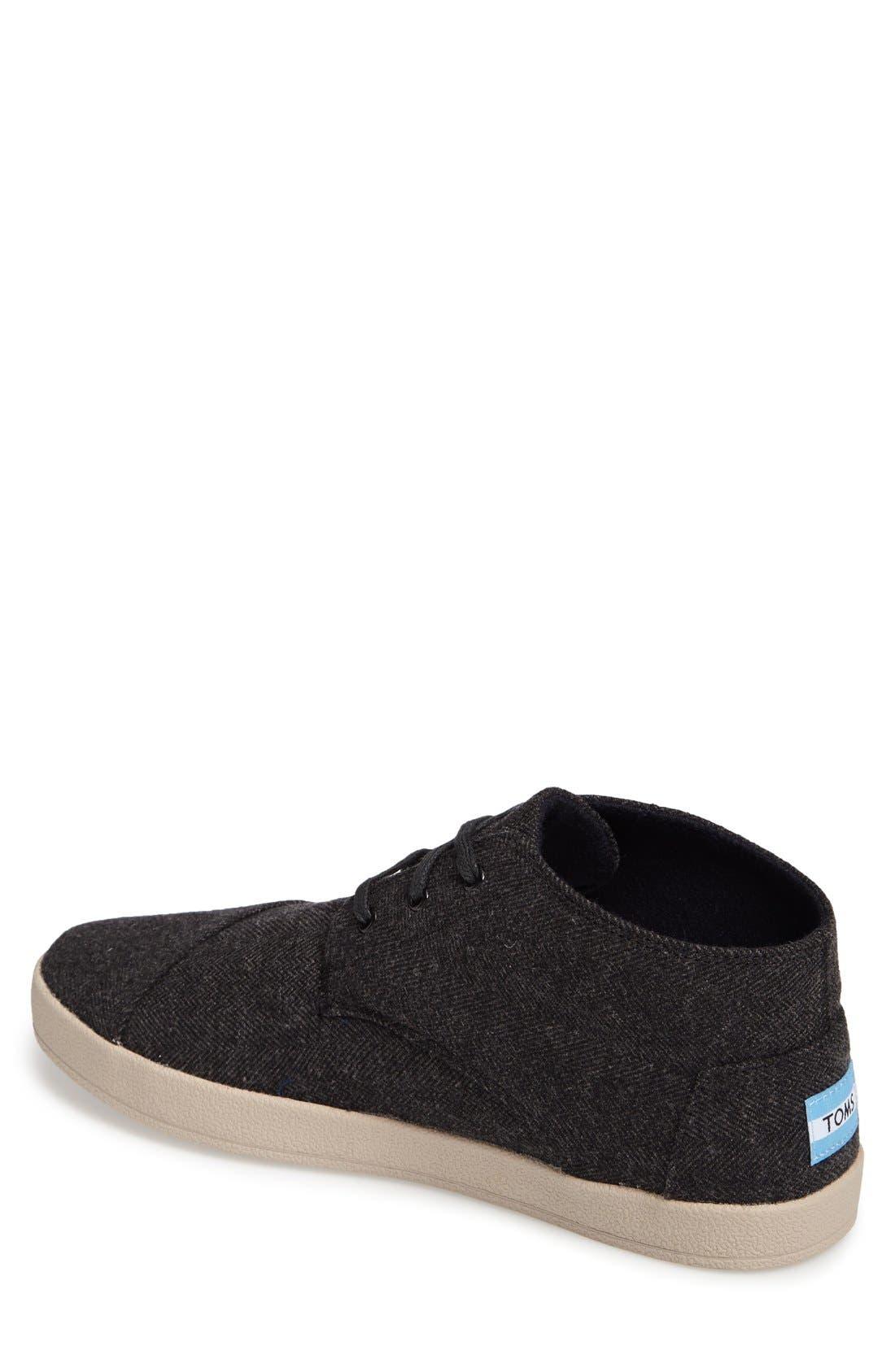 'Paseo Mid' Sneaker,                             Alternate thumbnail 2, color,                             Grey