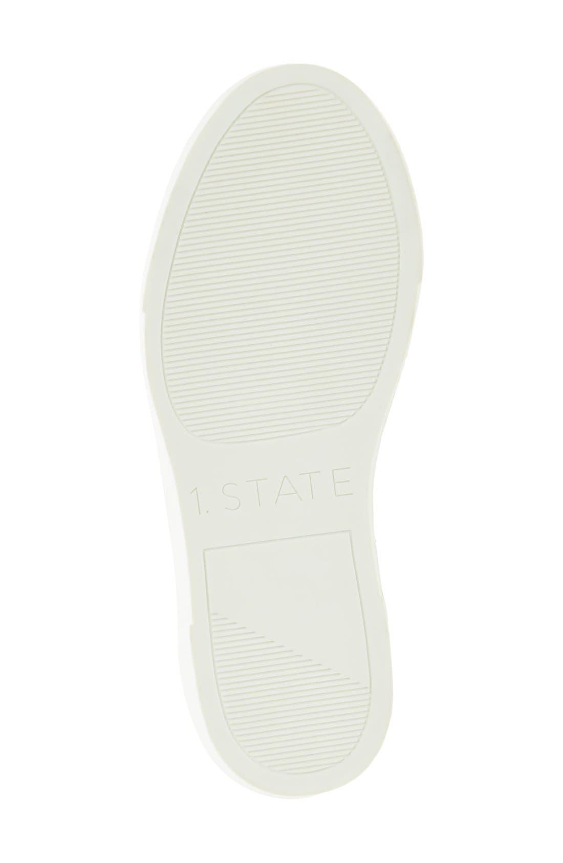Alternate Image 4  - 1.STATE Delphin Braided Slip-On Sneaker (Women)