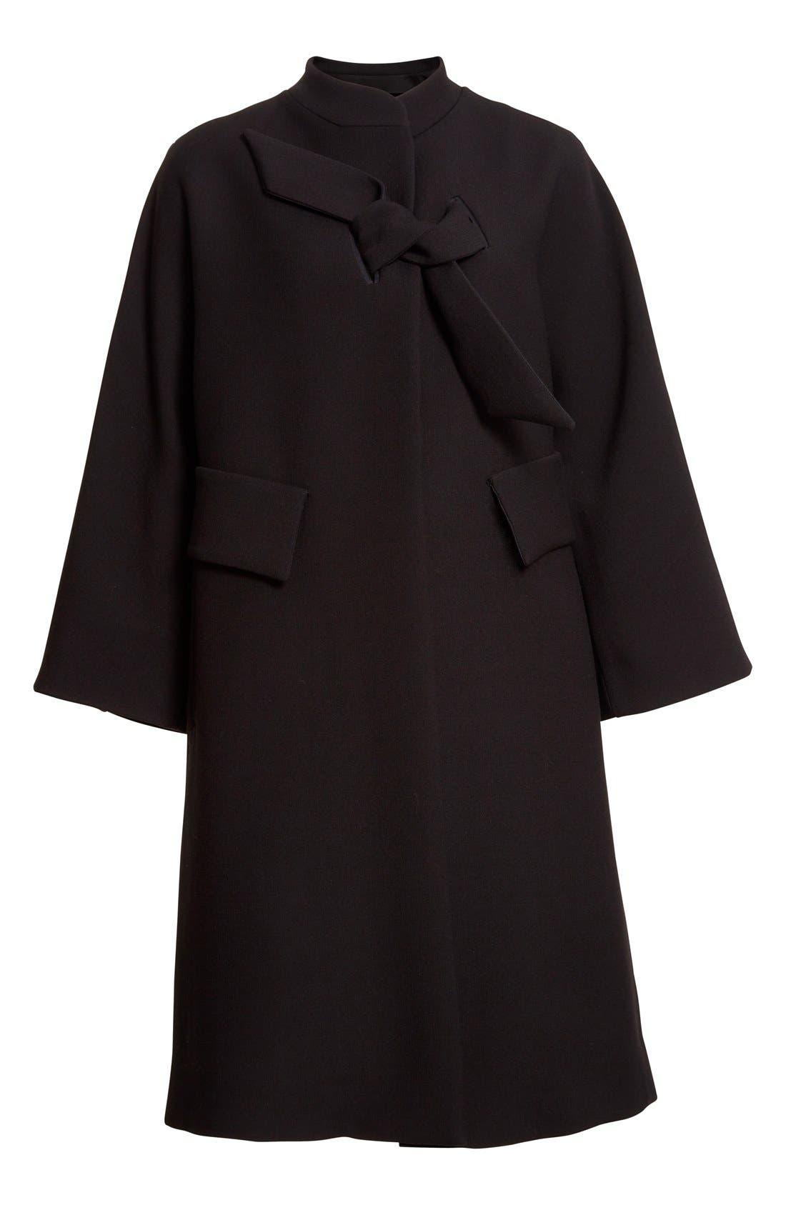 Alternate Image 4  - Armani Collezioni Double Crepe Caban Jacket