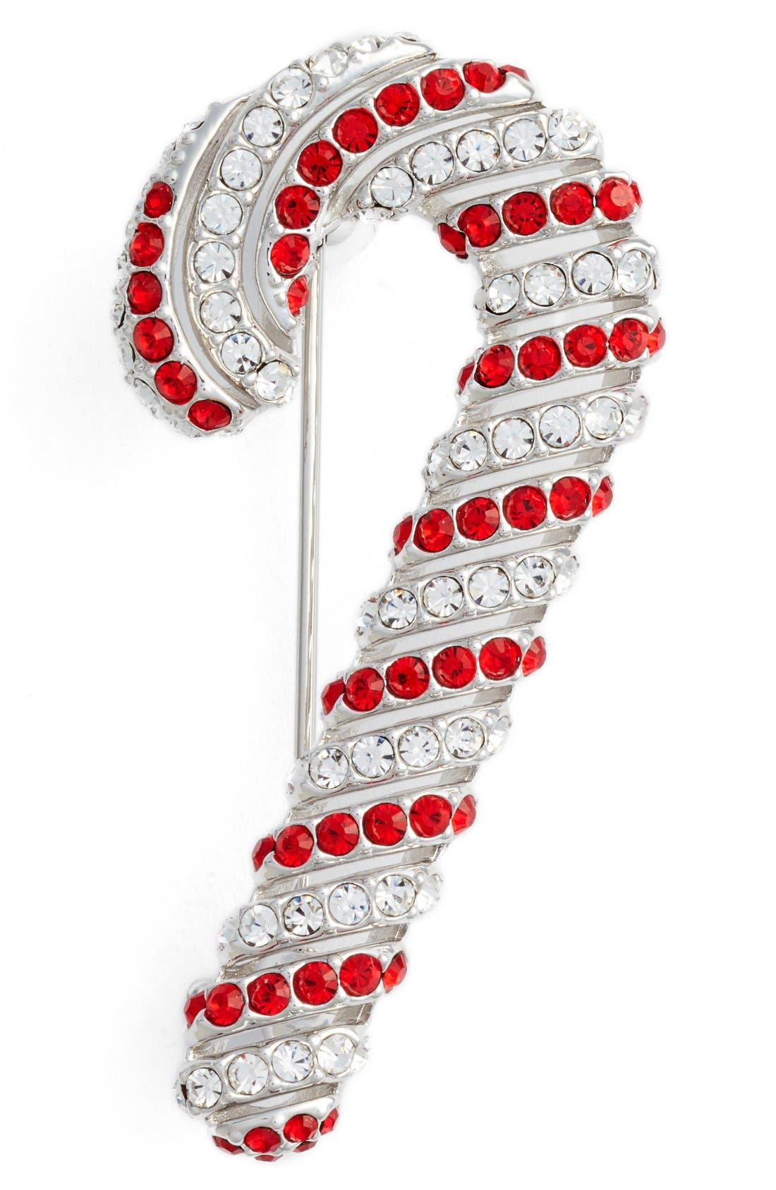 Alternate Image 1 Selected - Nadri Jolly Candy Cane Pin