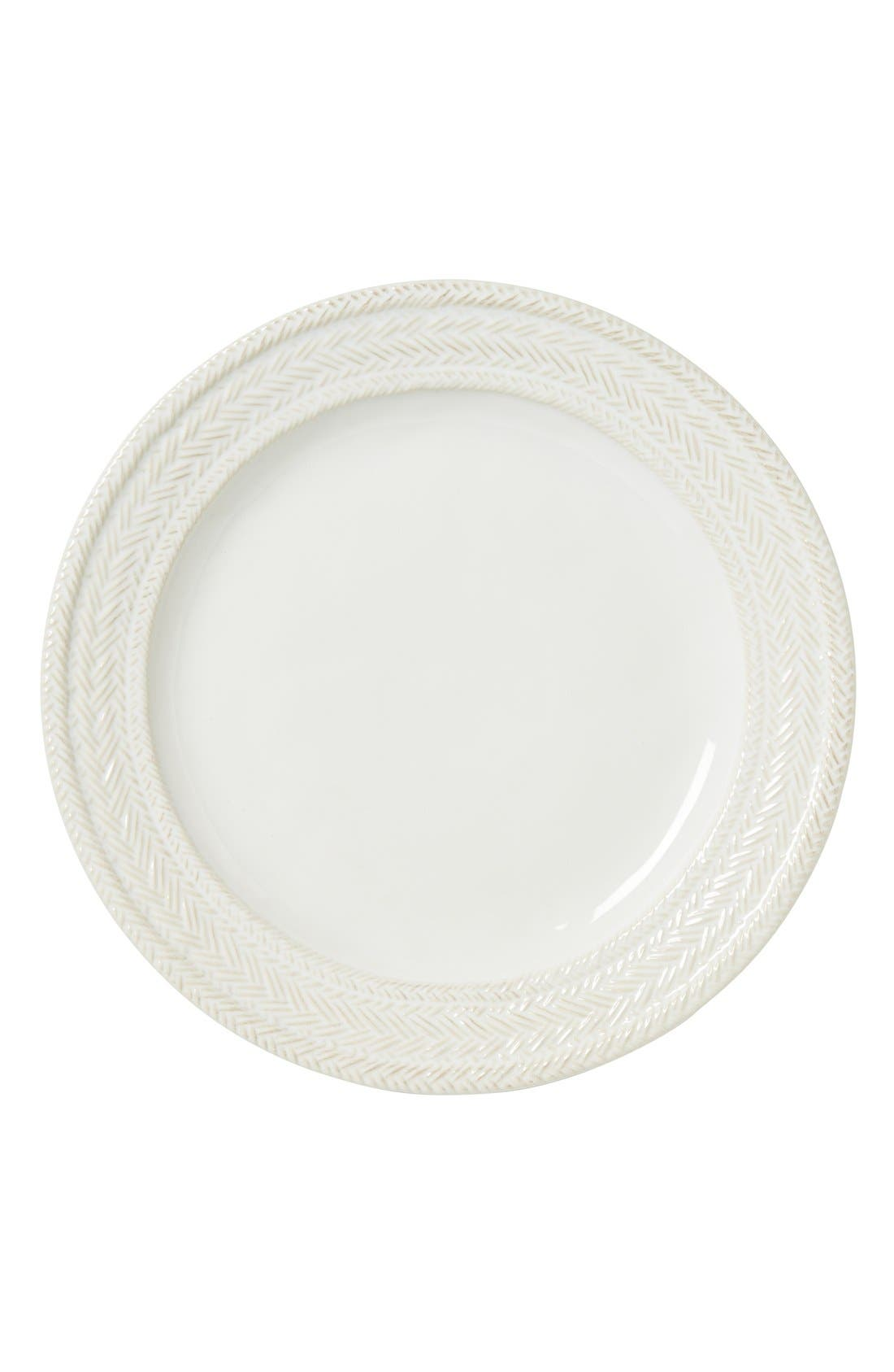 Le Panier Dinner Plate,                         Main,                         color, Whitewash