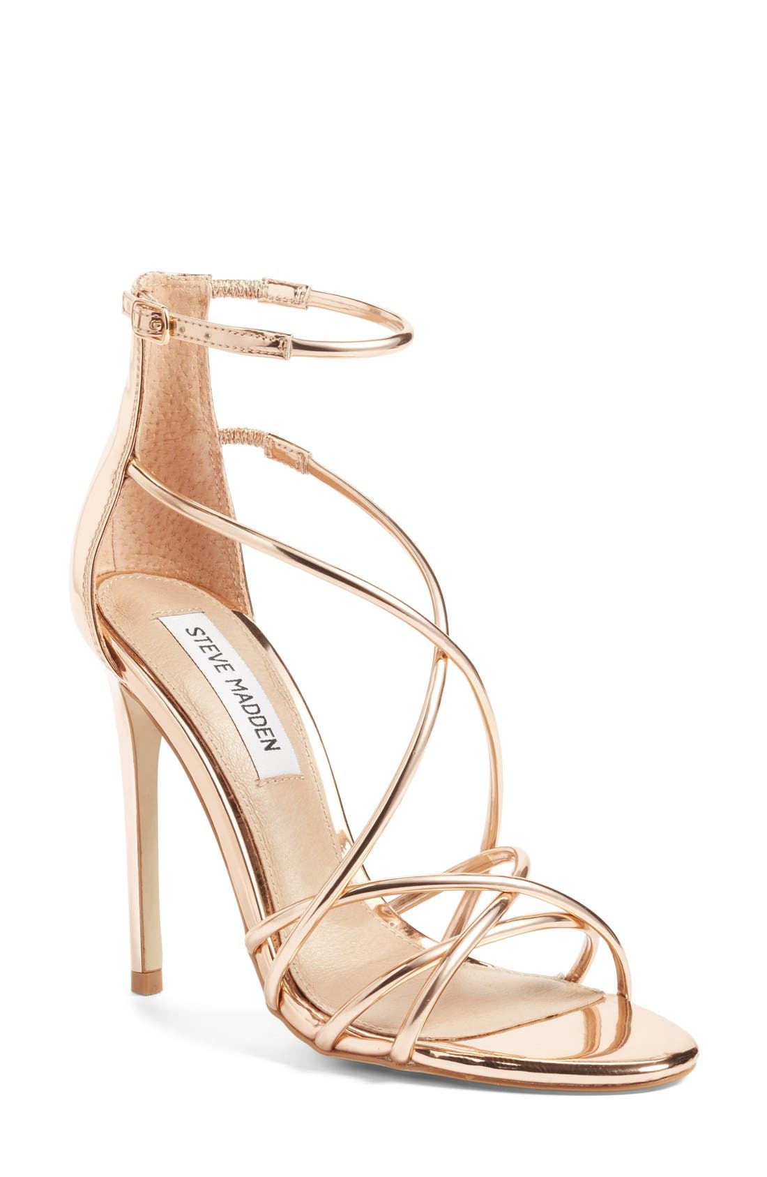 Alternate Image 1 Selected - Steve Madden Satire Strappy Sandal (Women)